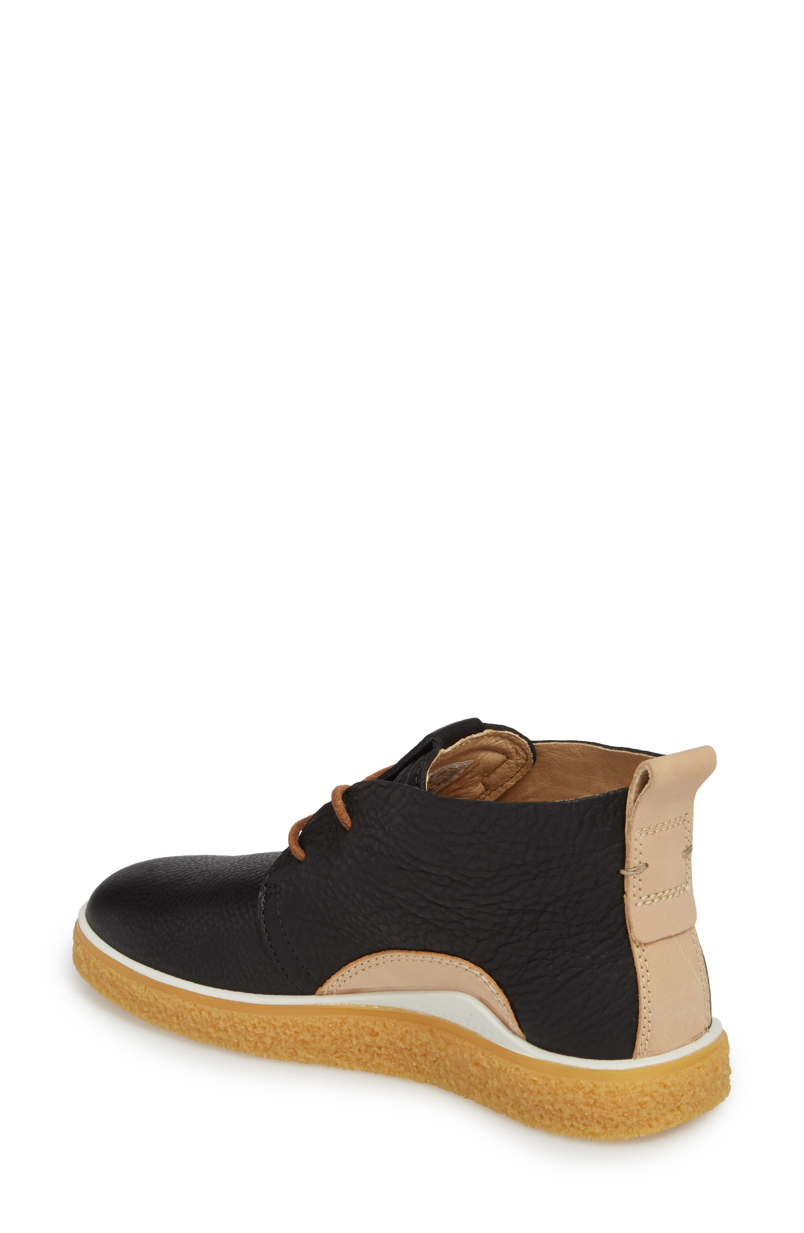 Crepetray Chukka Boot,                             Alternate thumbnail 2, color,                             Black Powder Leather