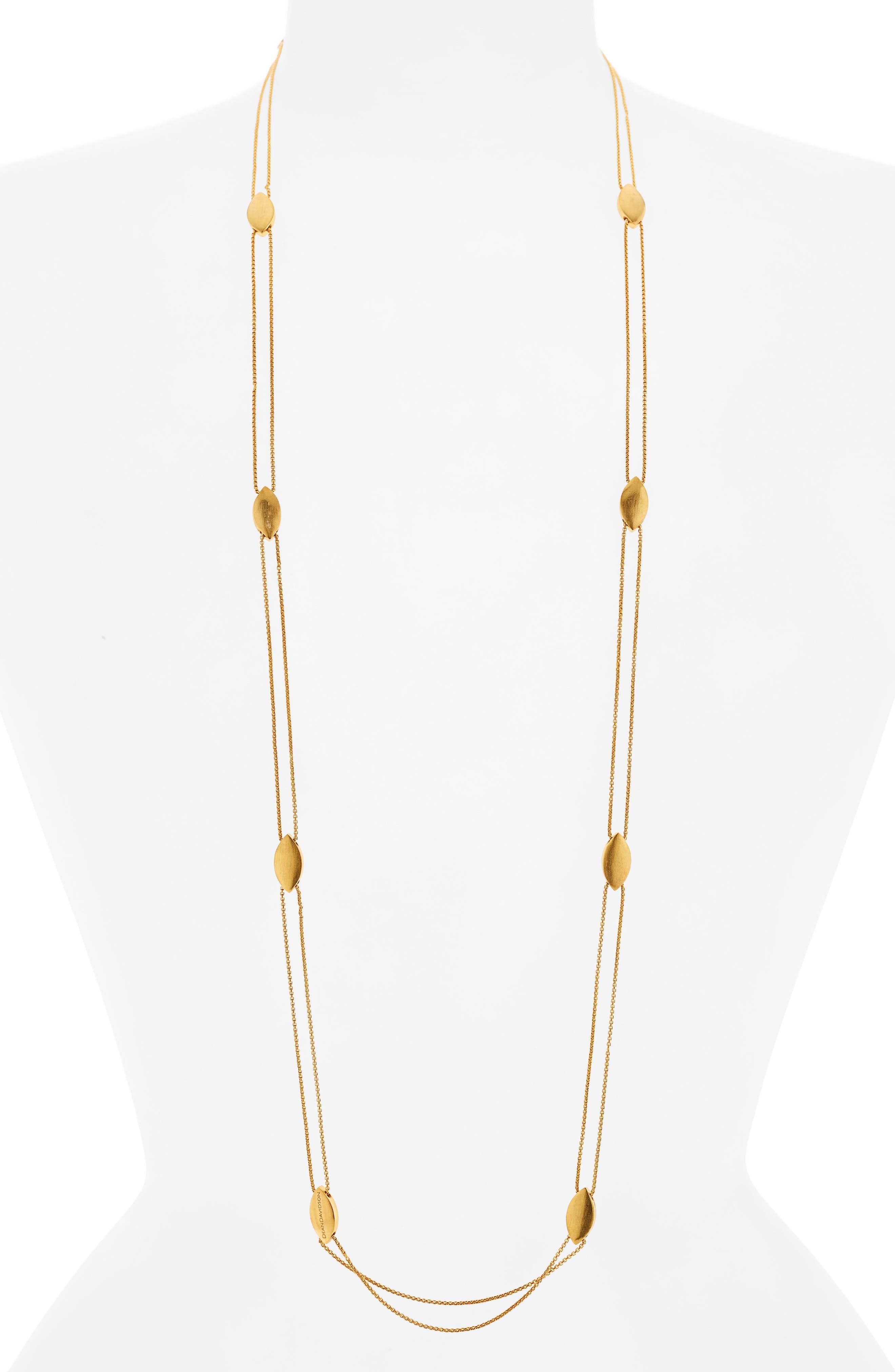 Taj Charm Necklace,                             Main thumbnail 1, color,                             Gold