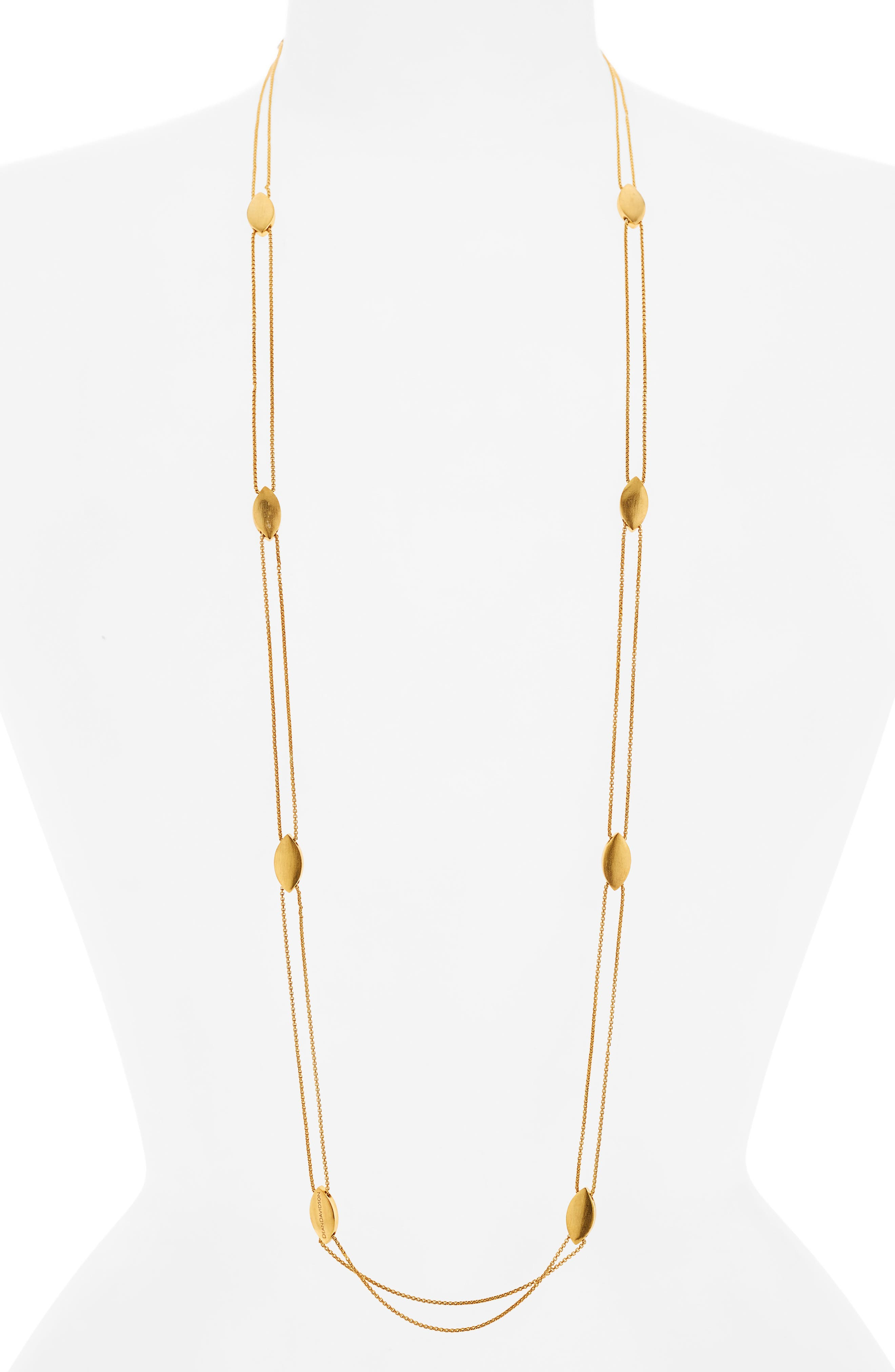 Taj Charm Necklace,                         Main,                         color, Gold