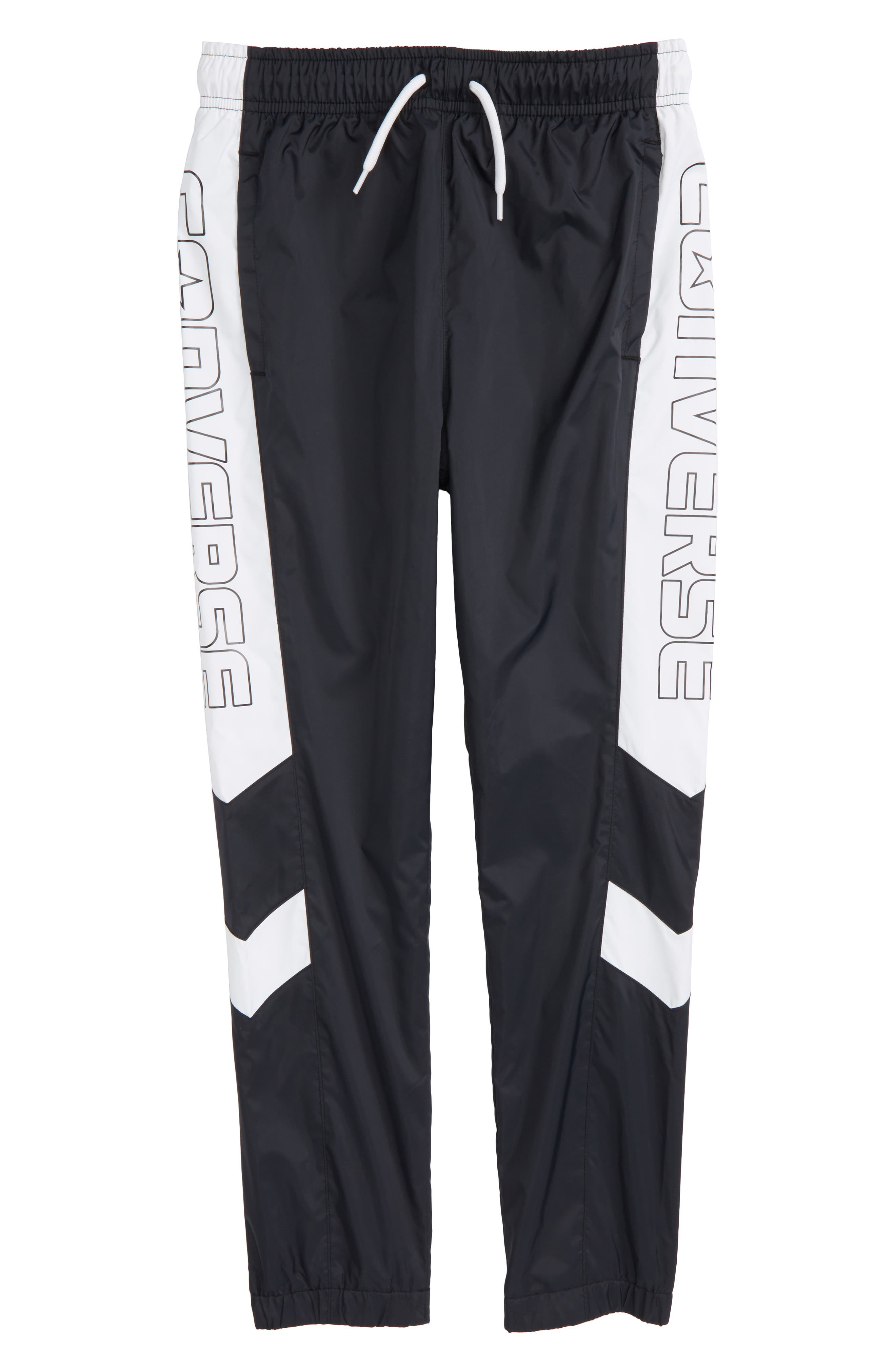 Converse Logo Woven Jogger Pants (Big Boys)
