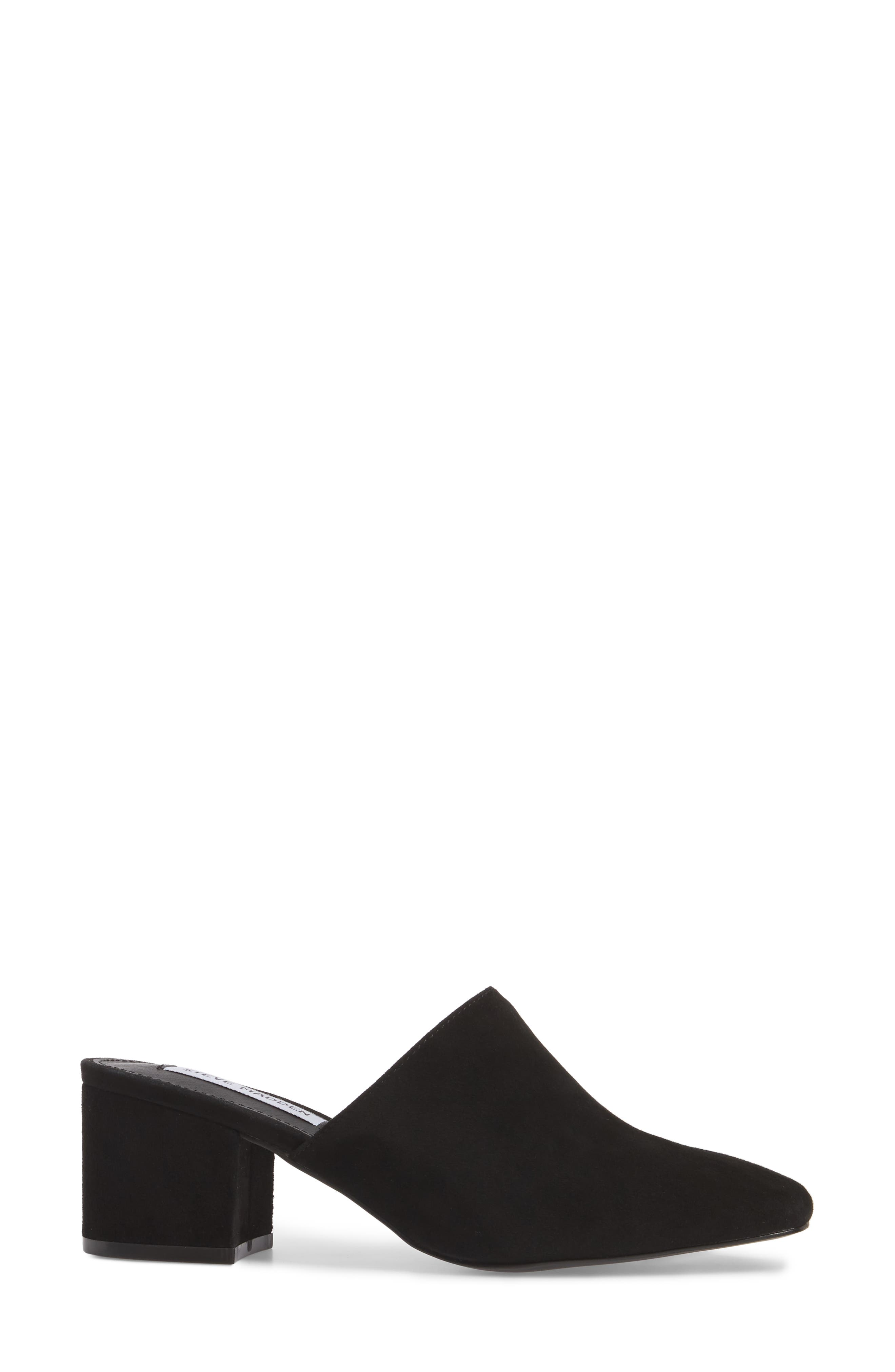 Alternate Image 3  - Steve Madden Notch Mule (Women)