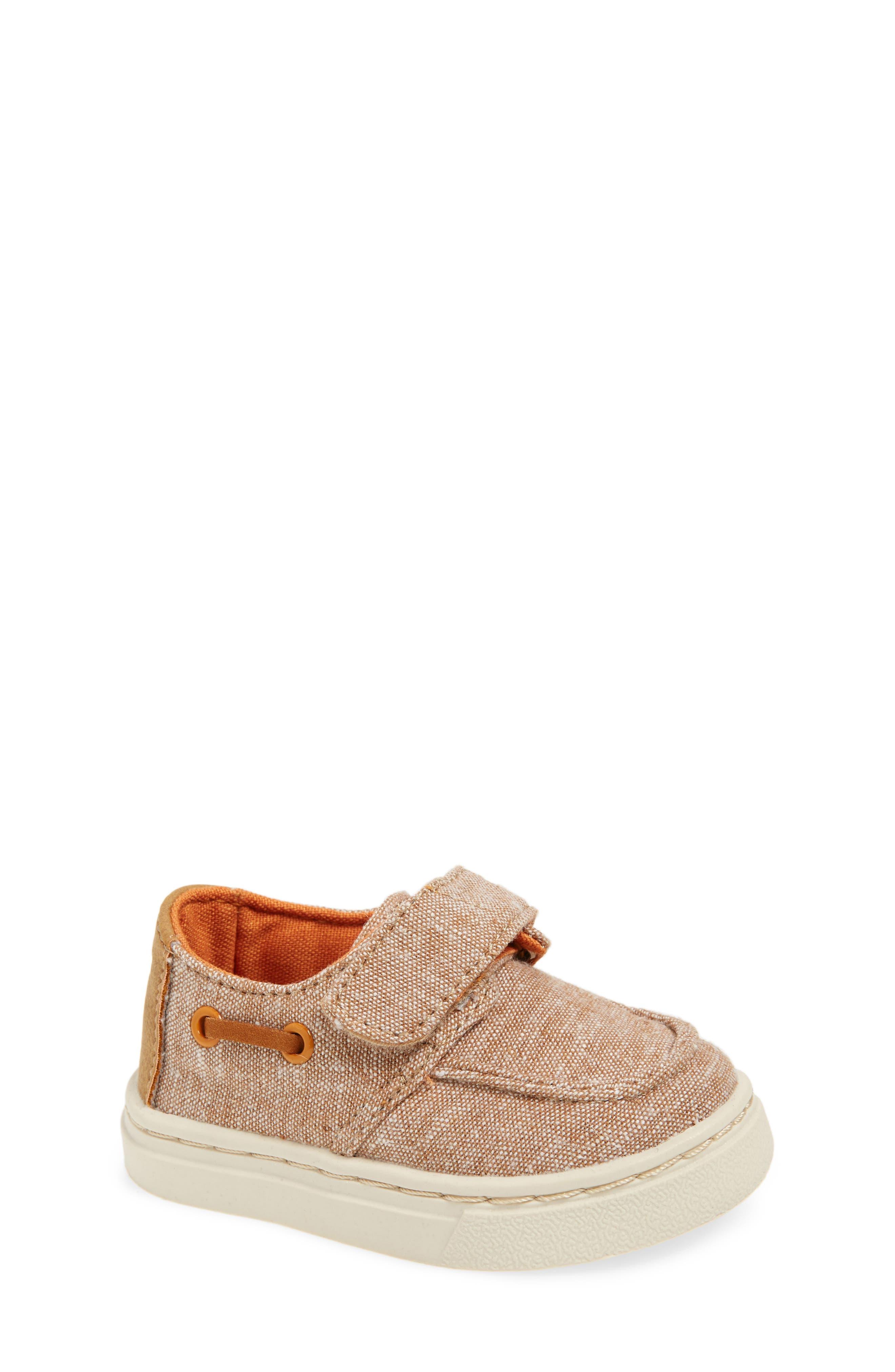 TOMS Culver Boat Shoe (Baby, Walker & Toddler)