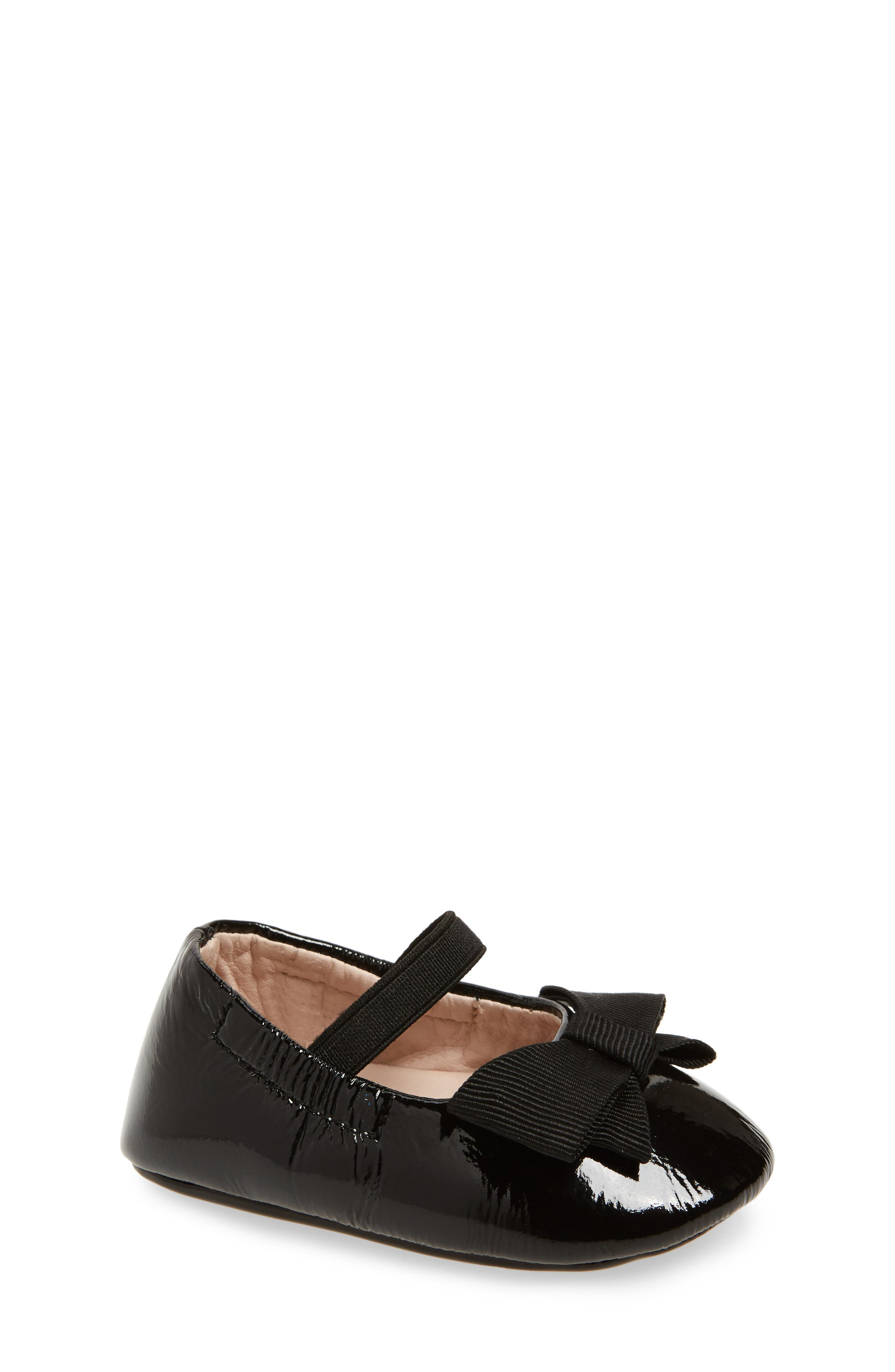 Lilia Mary Jane Flat,                         Main,                         color, Black Patent Leather