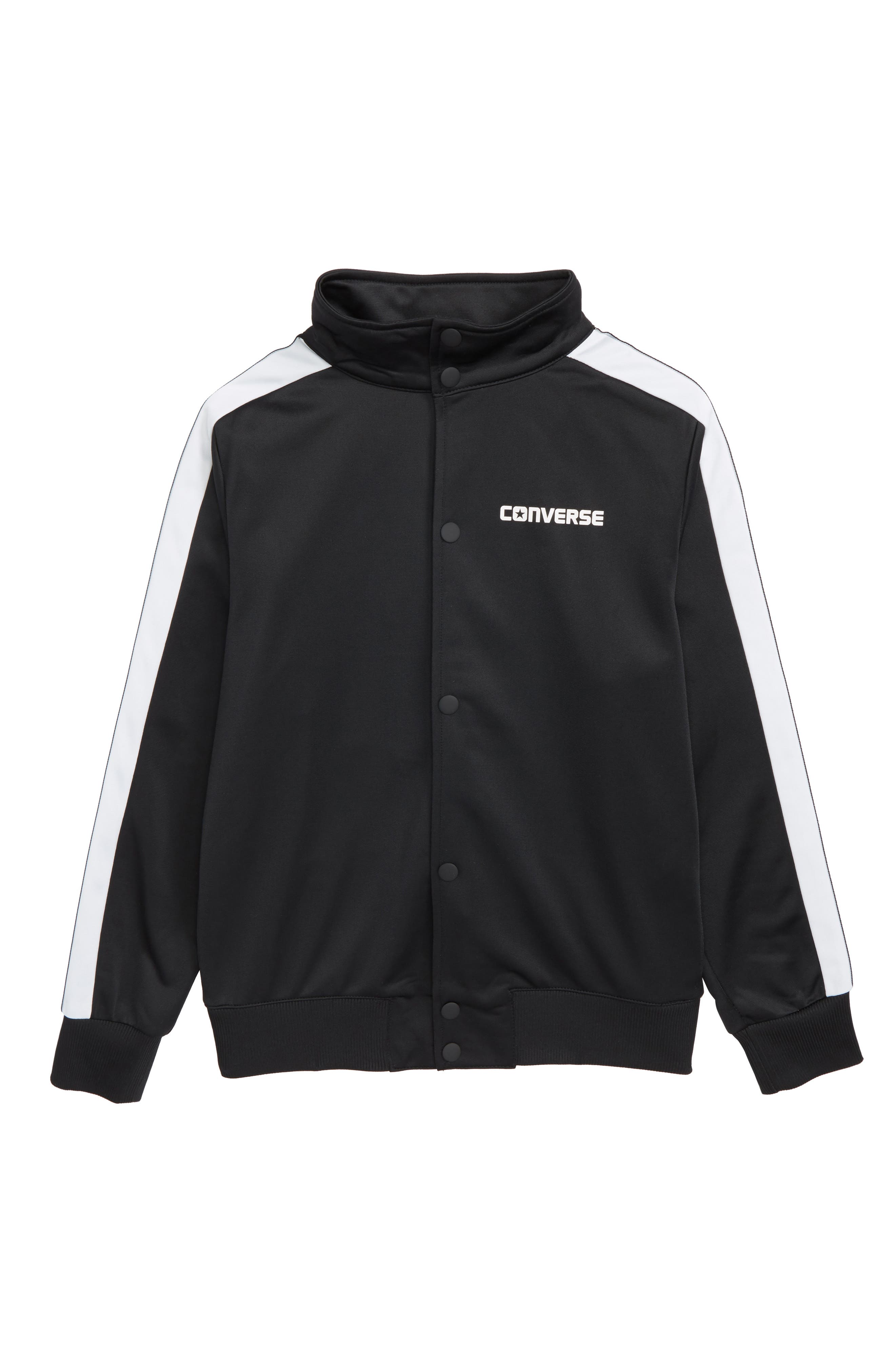 Converse Heritage Snap Front Bomber Jacket (Big Boys)