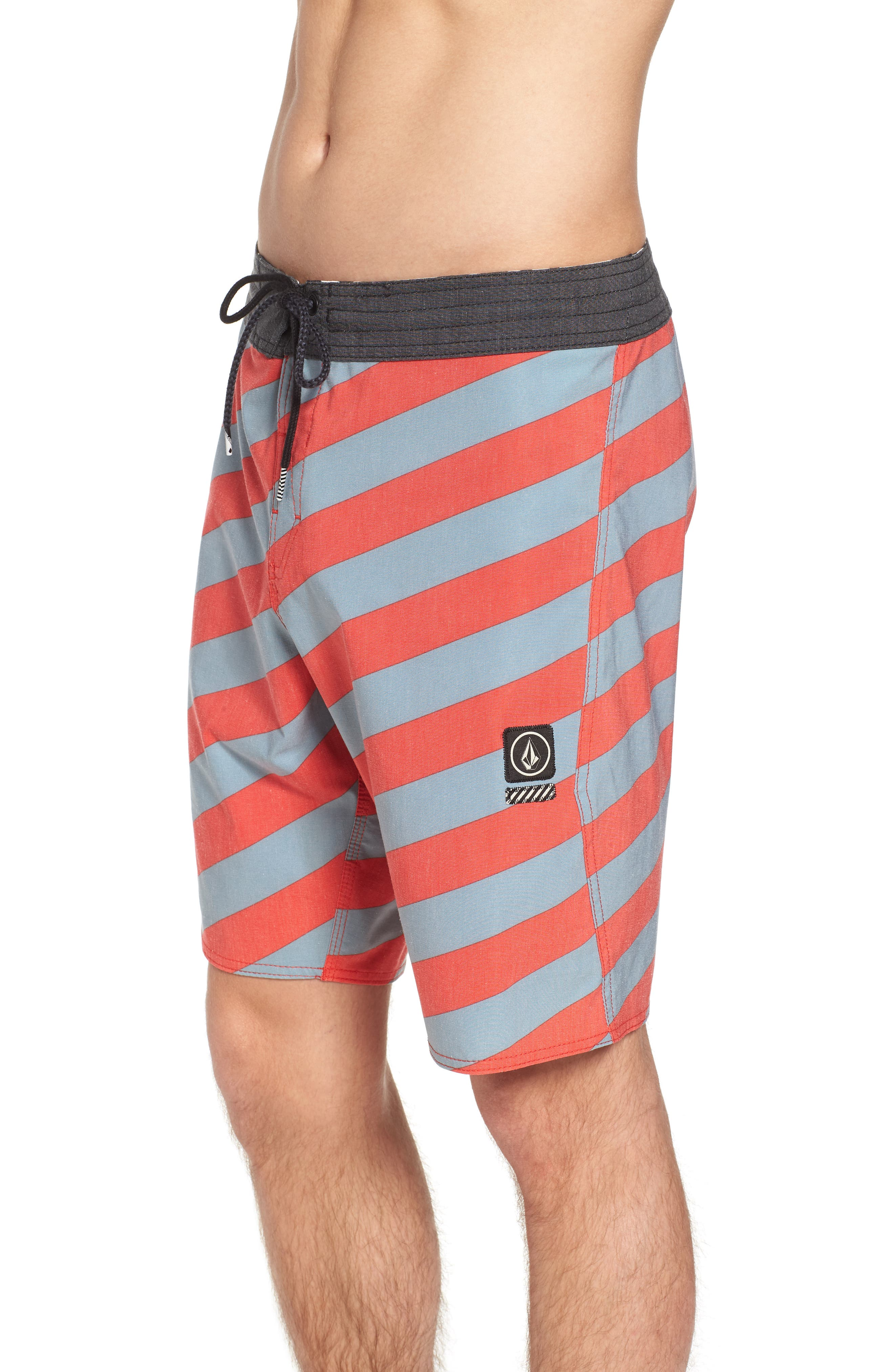 Stripey Stoney Boardshorts,                             Alternate thumbnail 4, color,                             Lead