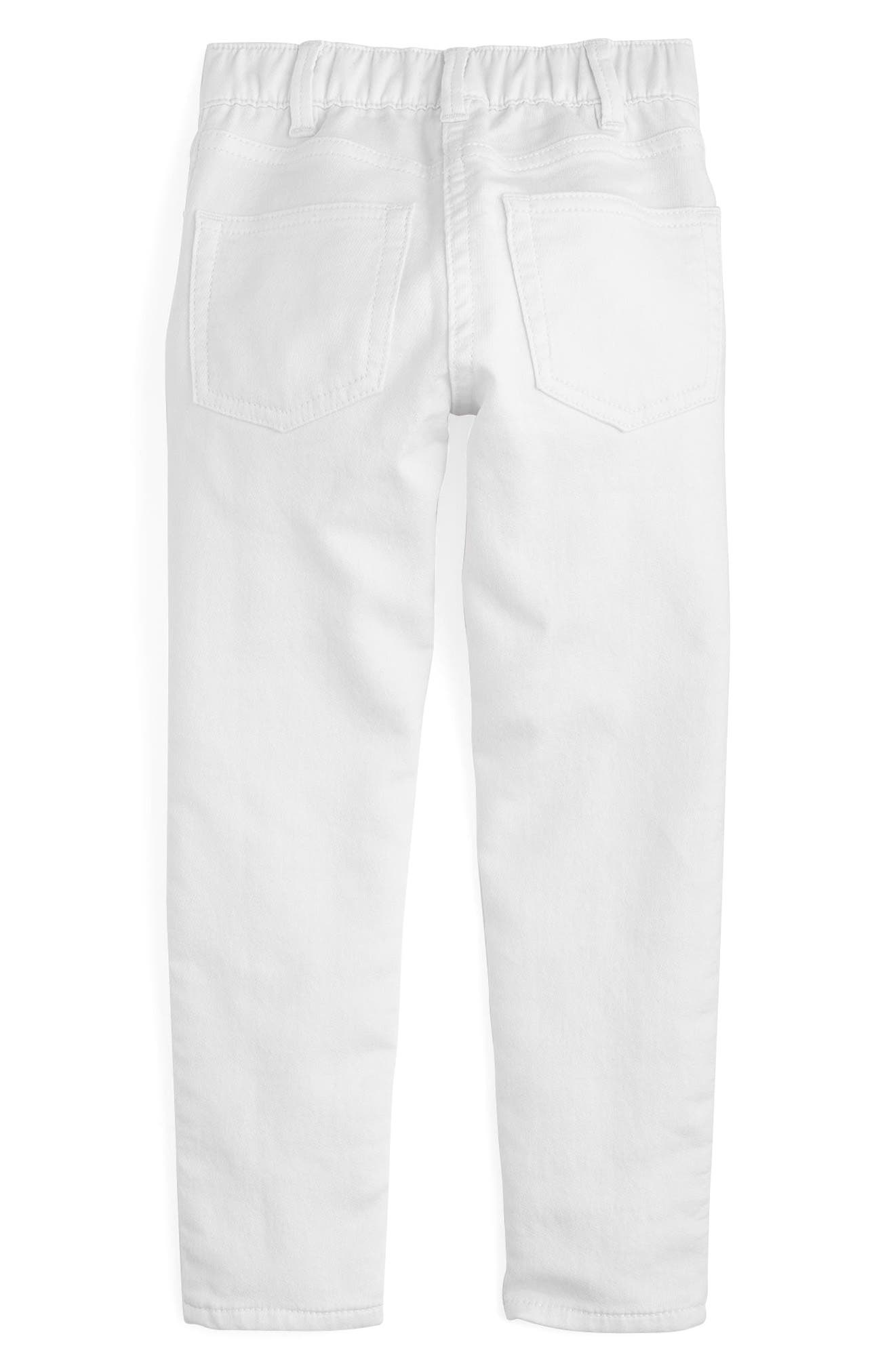 Runaround Garment Dye Jeans,                             Alternate thumbnail 2, color,                             White