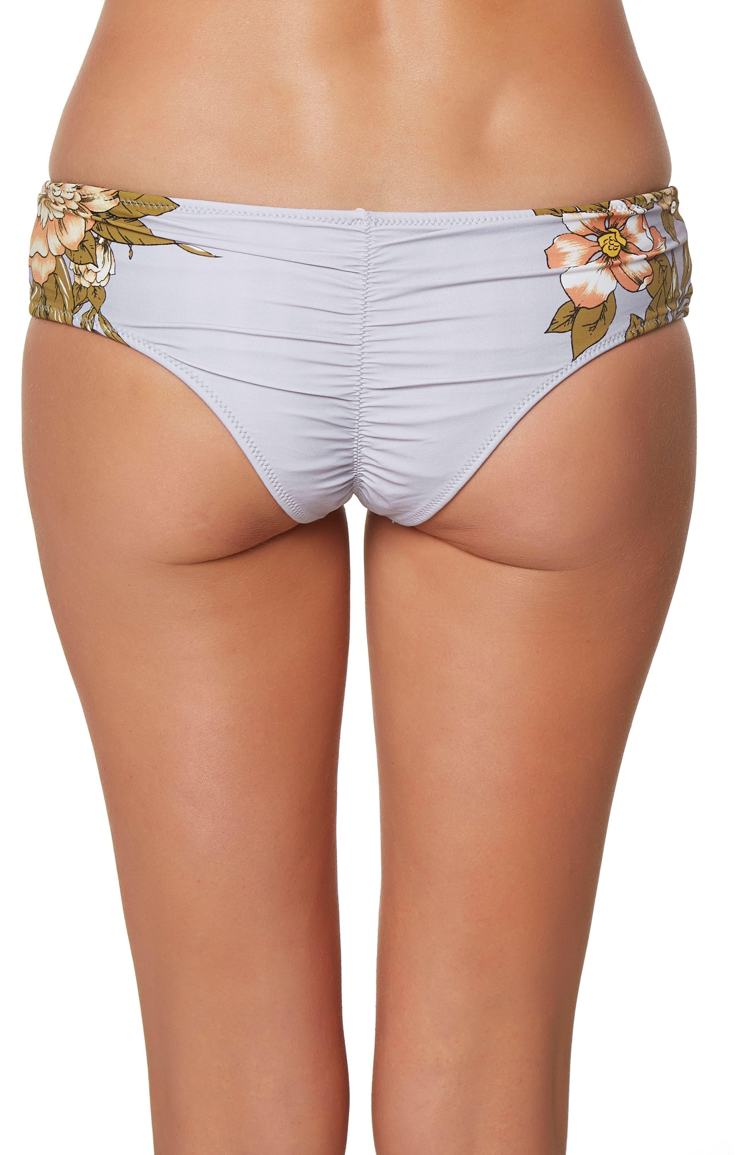 Alternate Image 2  - O'Neill Aloha Floral Revo Hipster Bikini Bottoms
