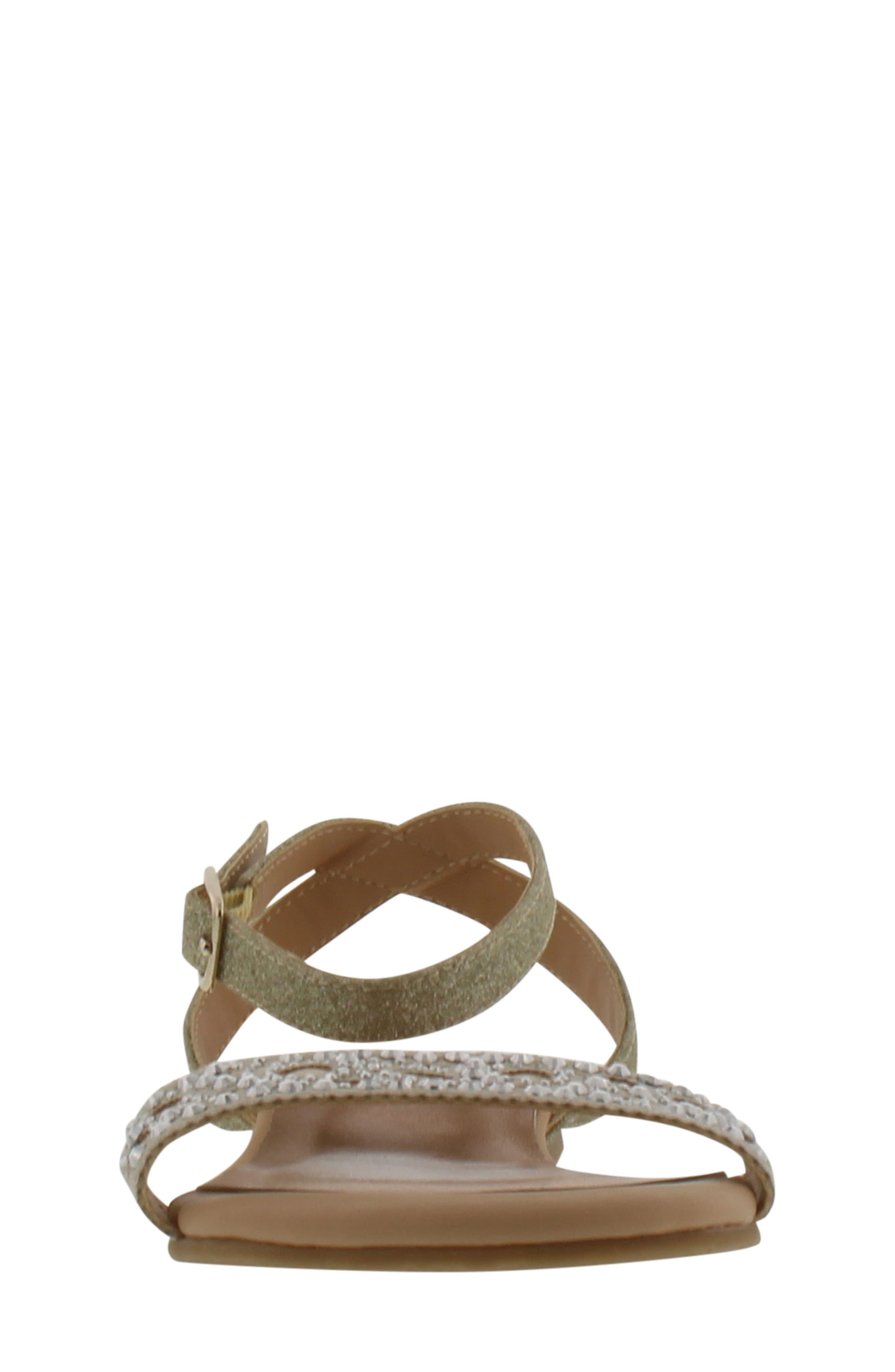 Alternate Image 4  - Badgley Mischka Cara Embellished Sandal (Toddler, Little Kid & Big Kid)