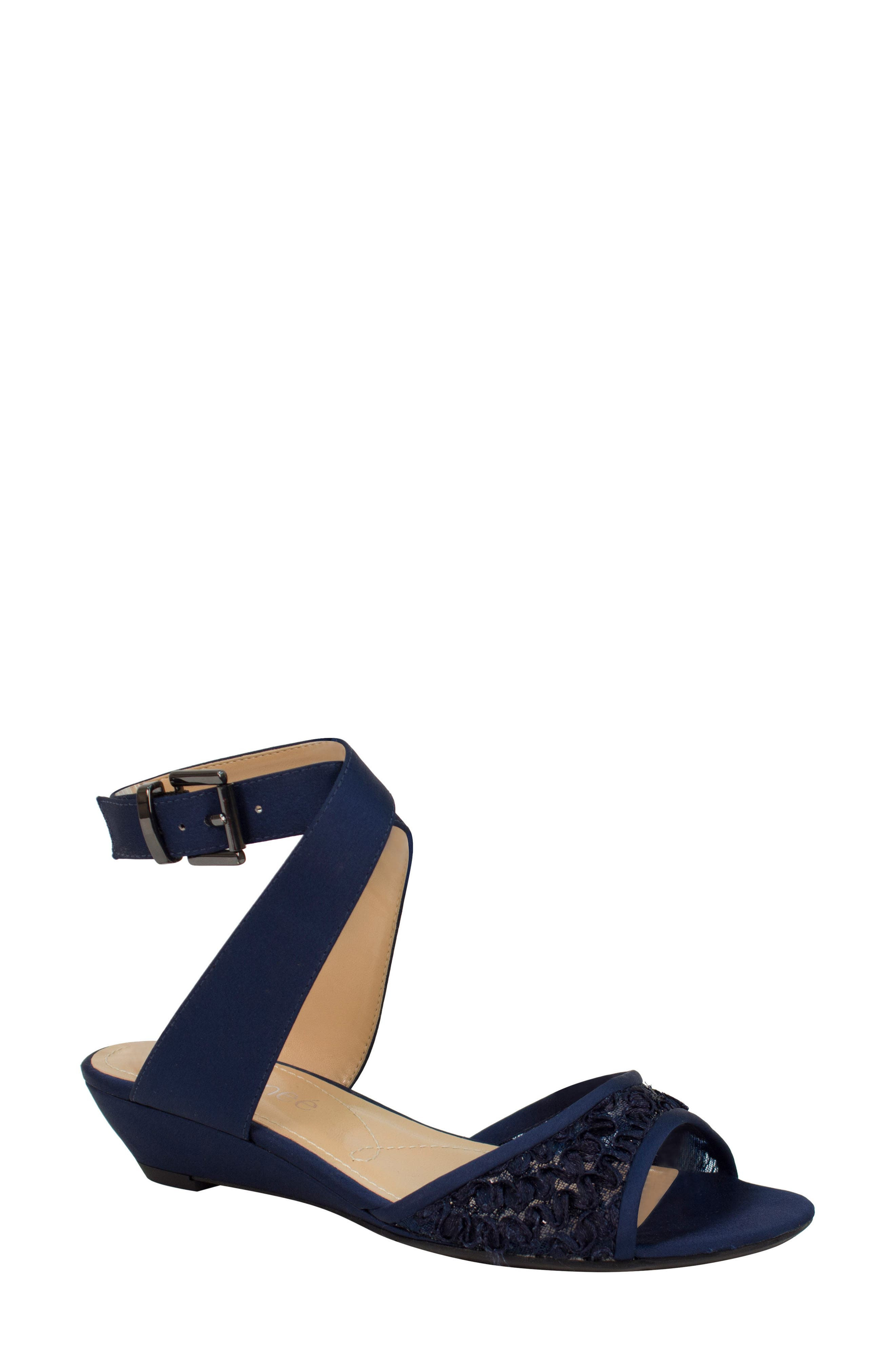 J. Reneé Belden Ankle Wrap Sandal (Women)
