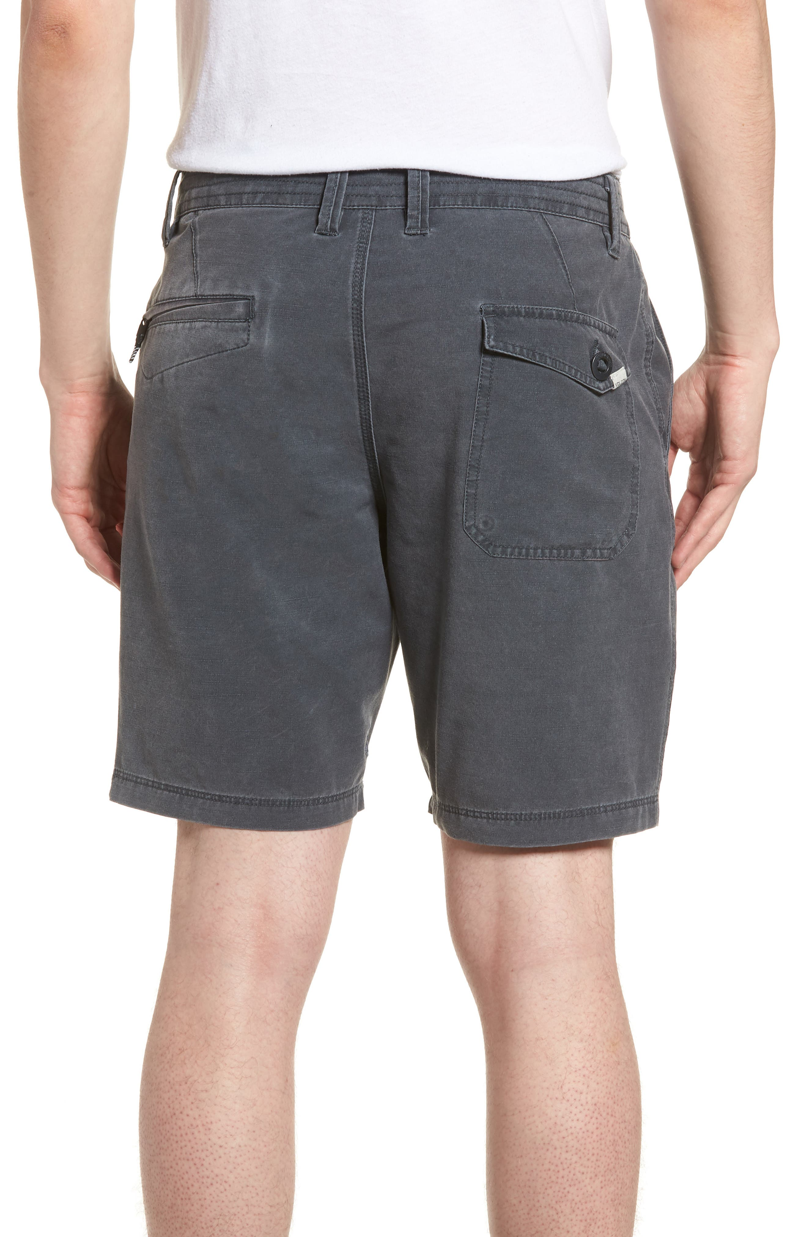 Surf N' Turf Hybrid Shorts,                             Alternate thumbnail 2, color,                             Grey Metal