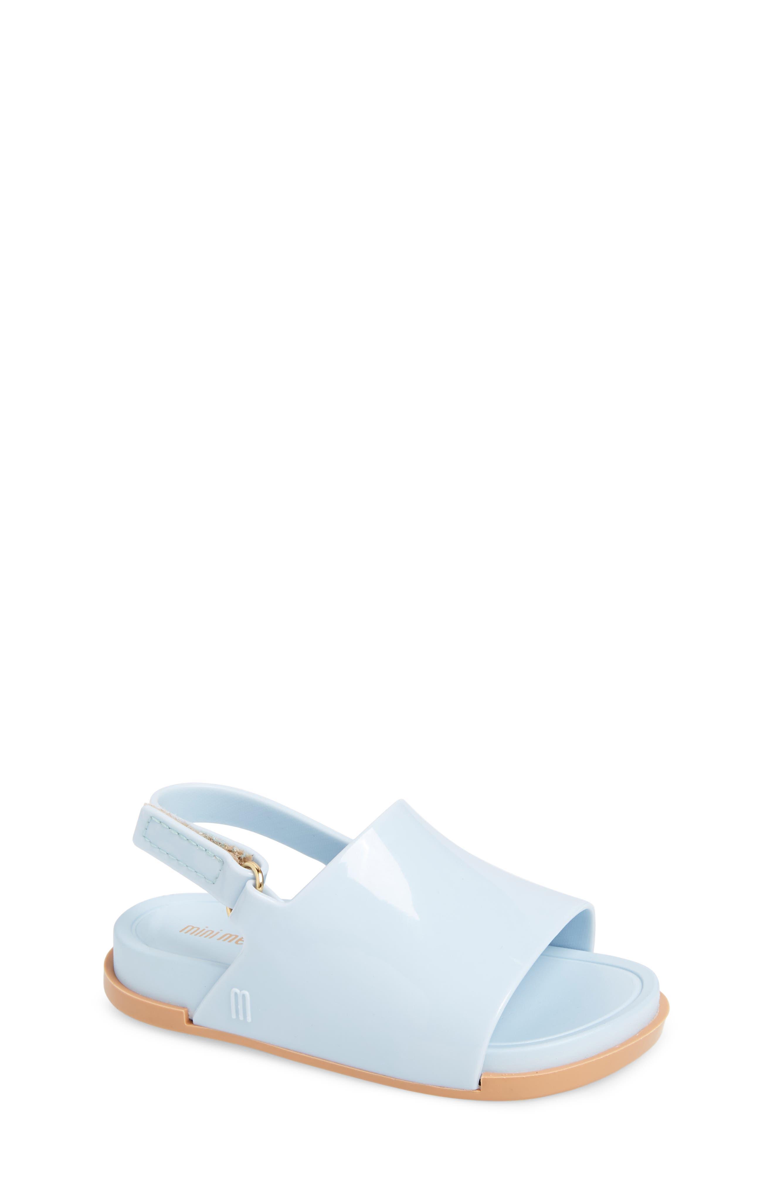 Mini Melissa Mini Beach Sandal (Walker & Toddler)