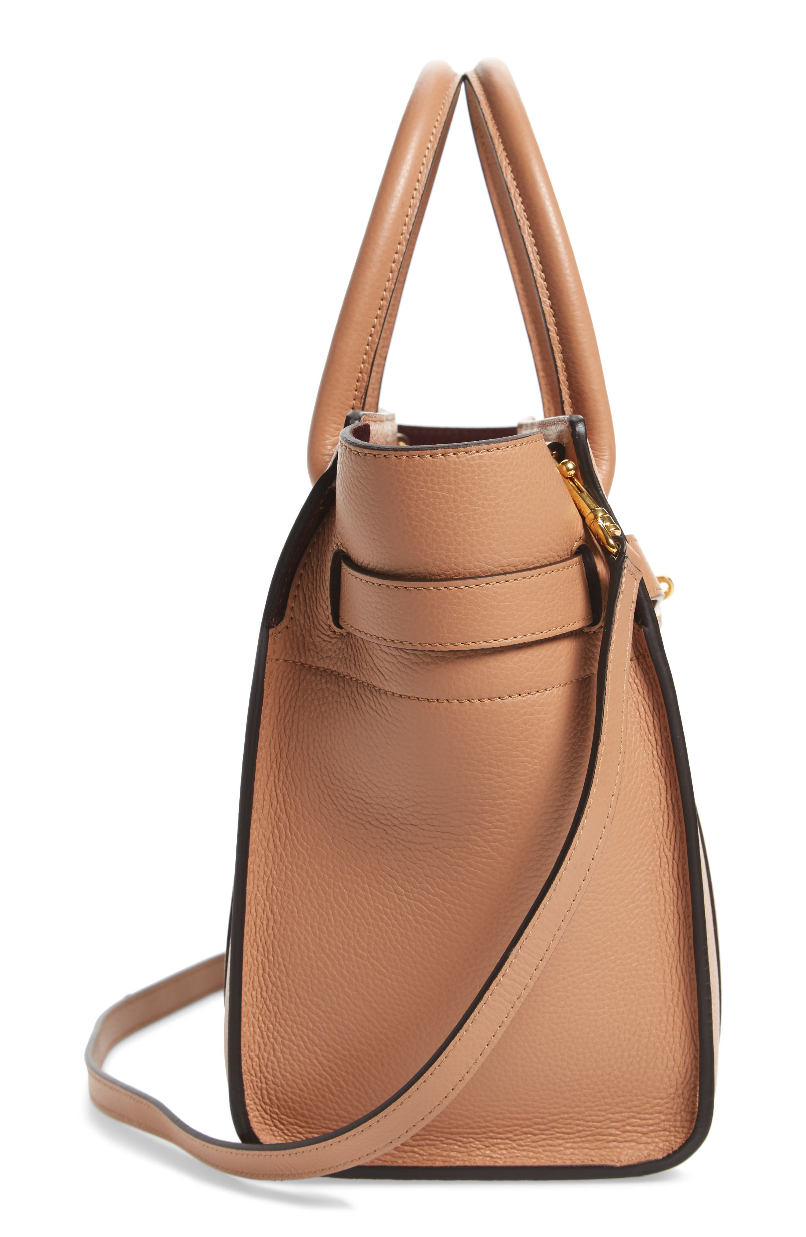 Alternate Image 5  - Mulberry Small Zip Bayswater Classic Leather Tote