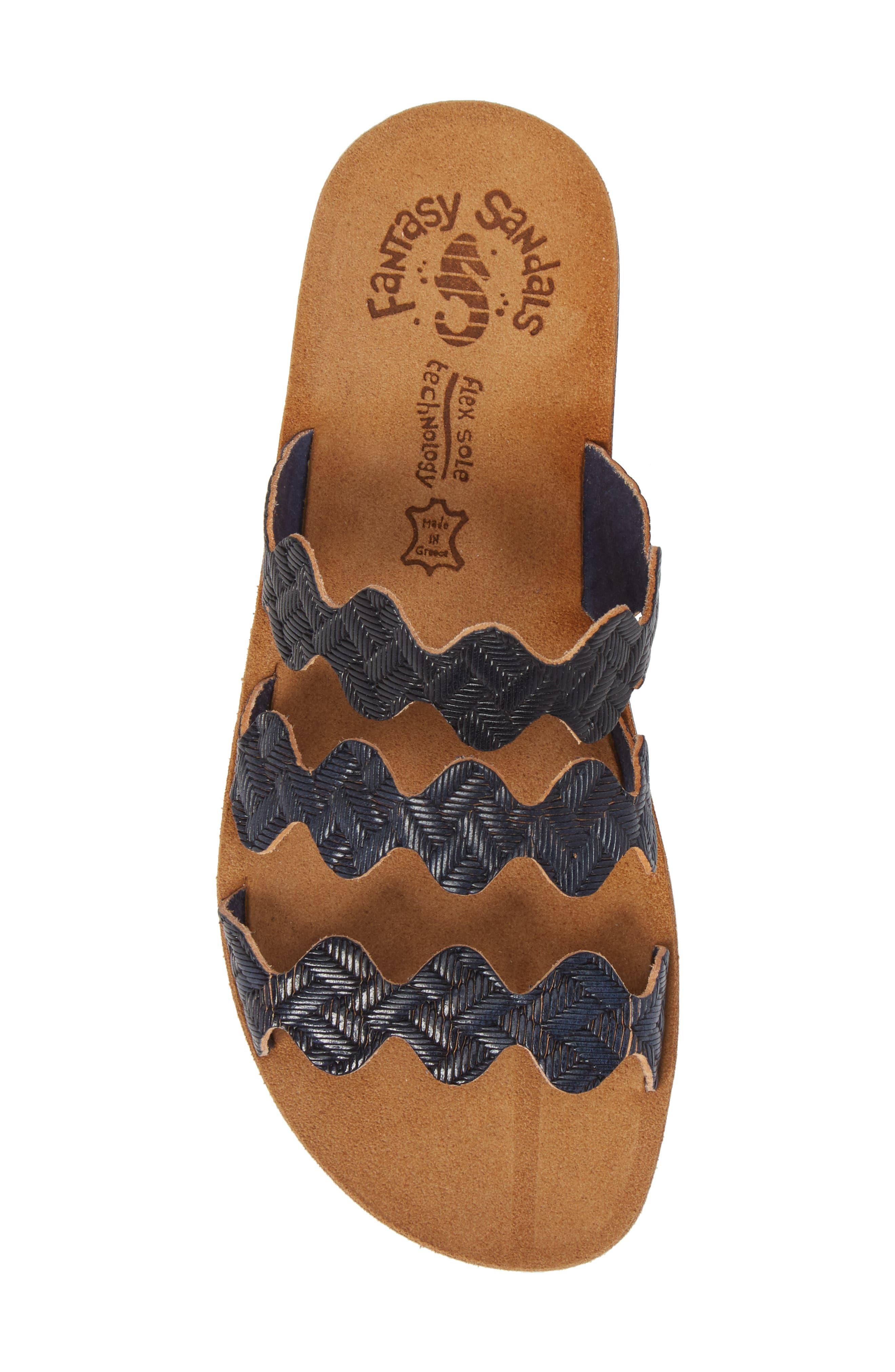 Alternate Image 5  - Fantasy Sandals Waves Slide Sandal (Women)