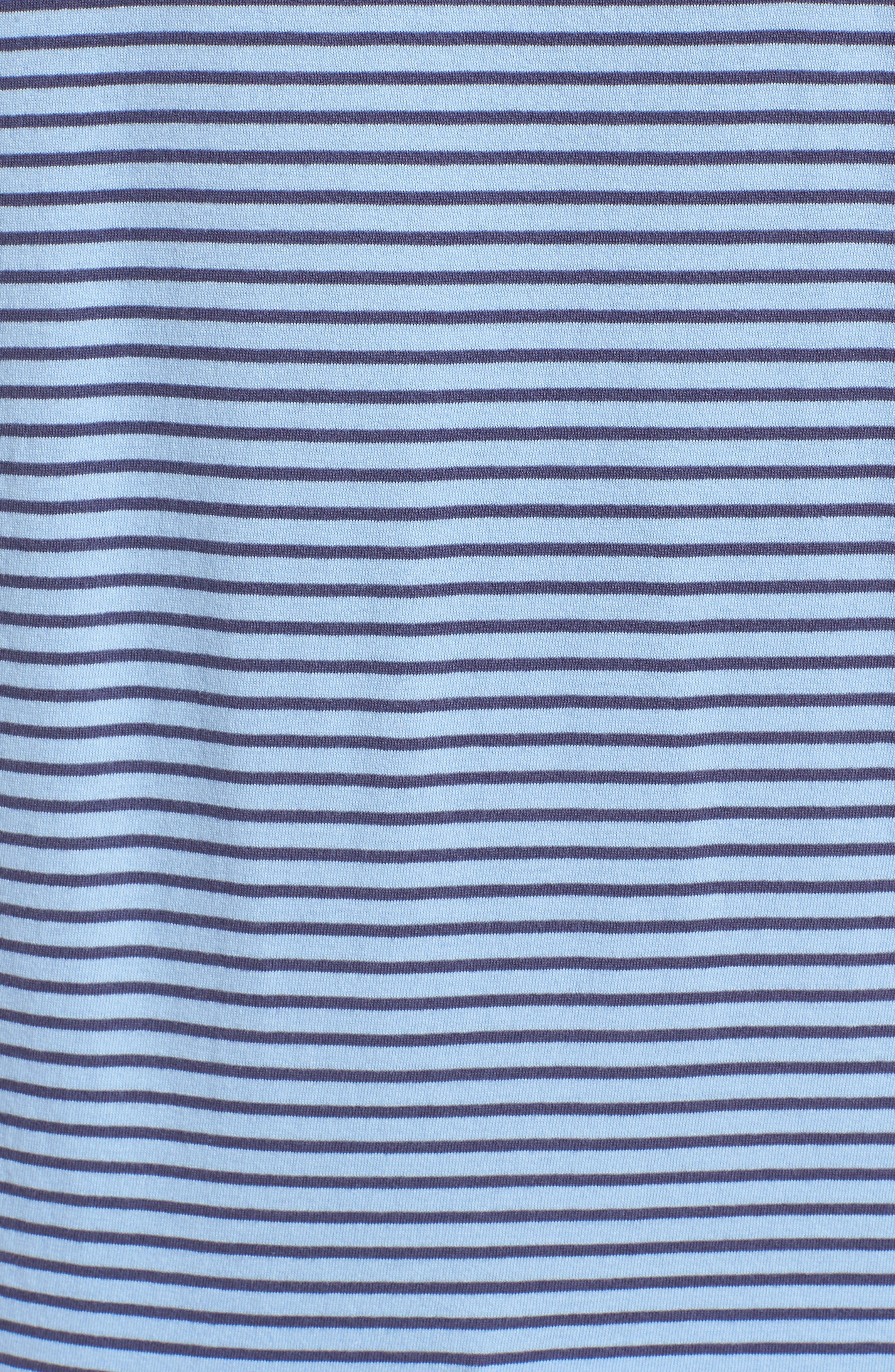 Macon Regular Fit Stripe Polo,                             Alternate thumbnail 5, color,                             Vista
