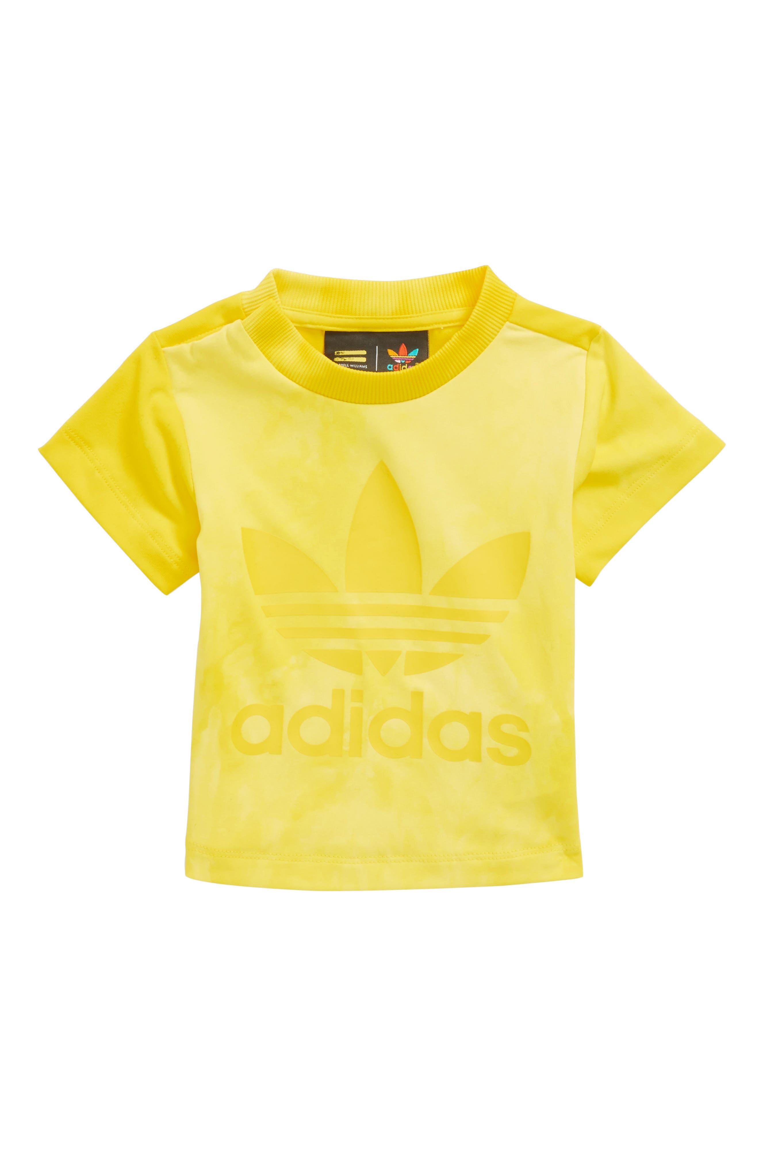 Hu Holi Tee,                         Main,                         color, Yellow / White
