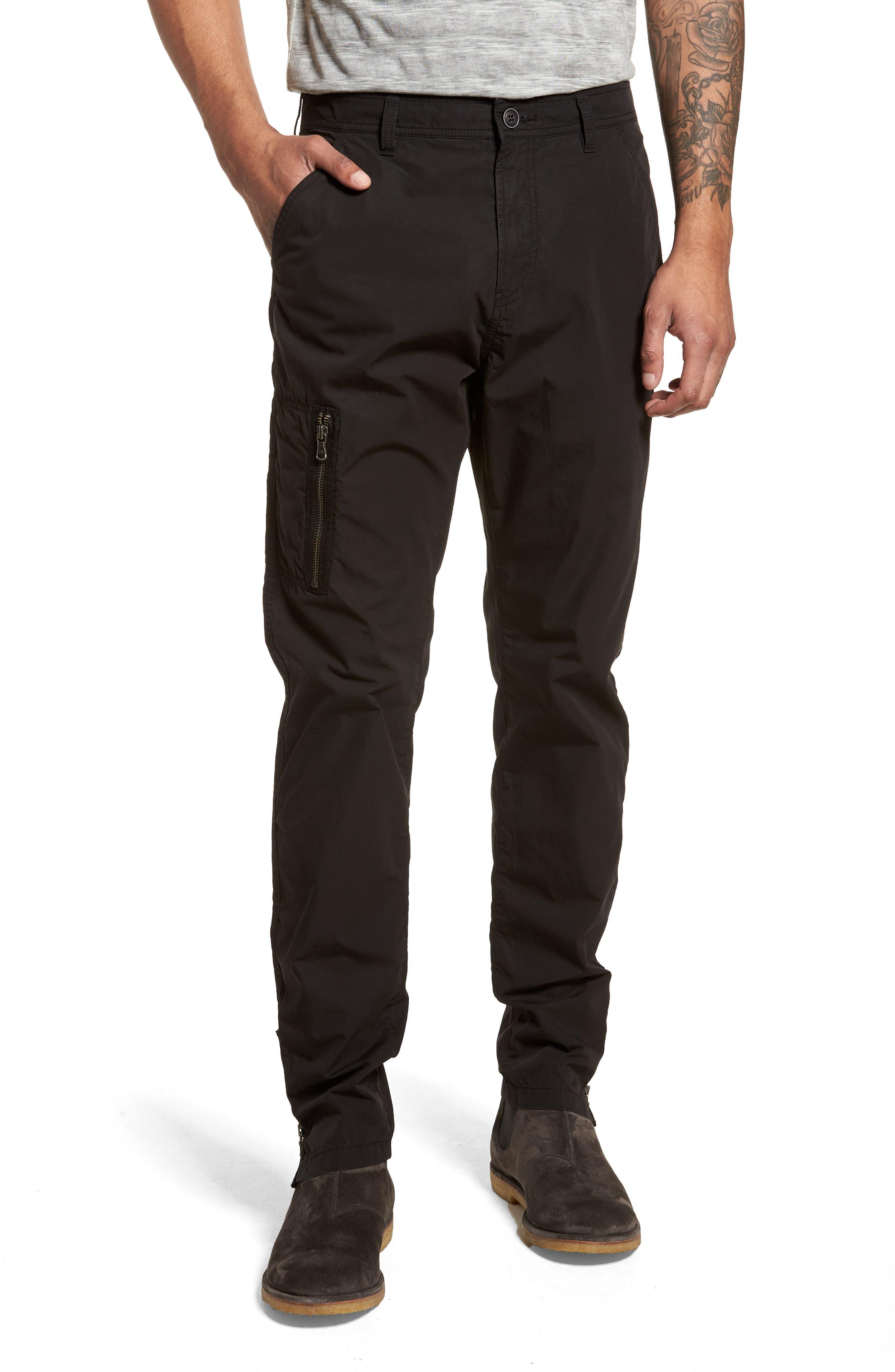John Varvatos Collection Cotton Cargo Pants