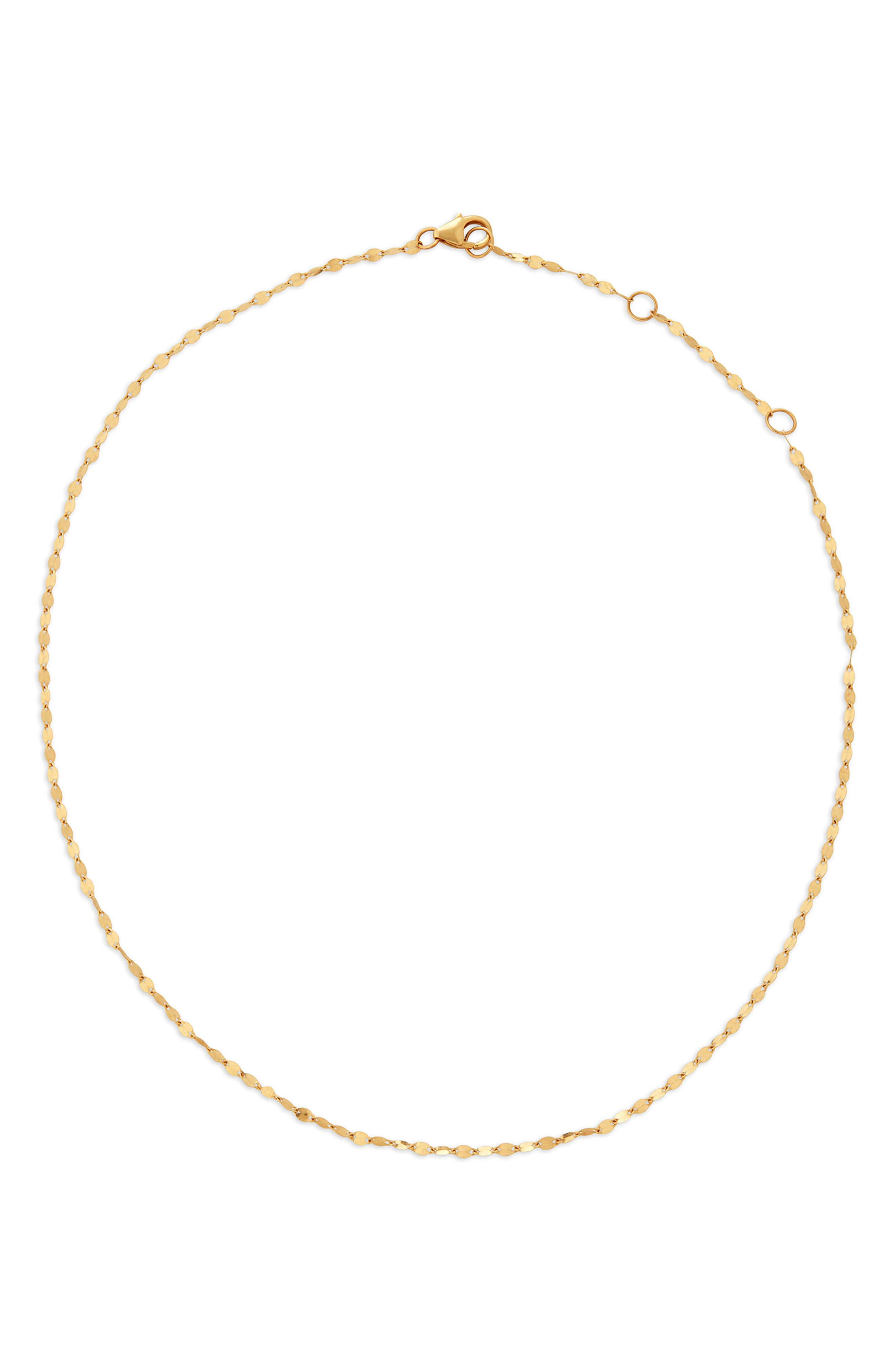 Blake Chain Choker Necklace,                             Main thumbnail 1, color,                             Yellow Gold