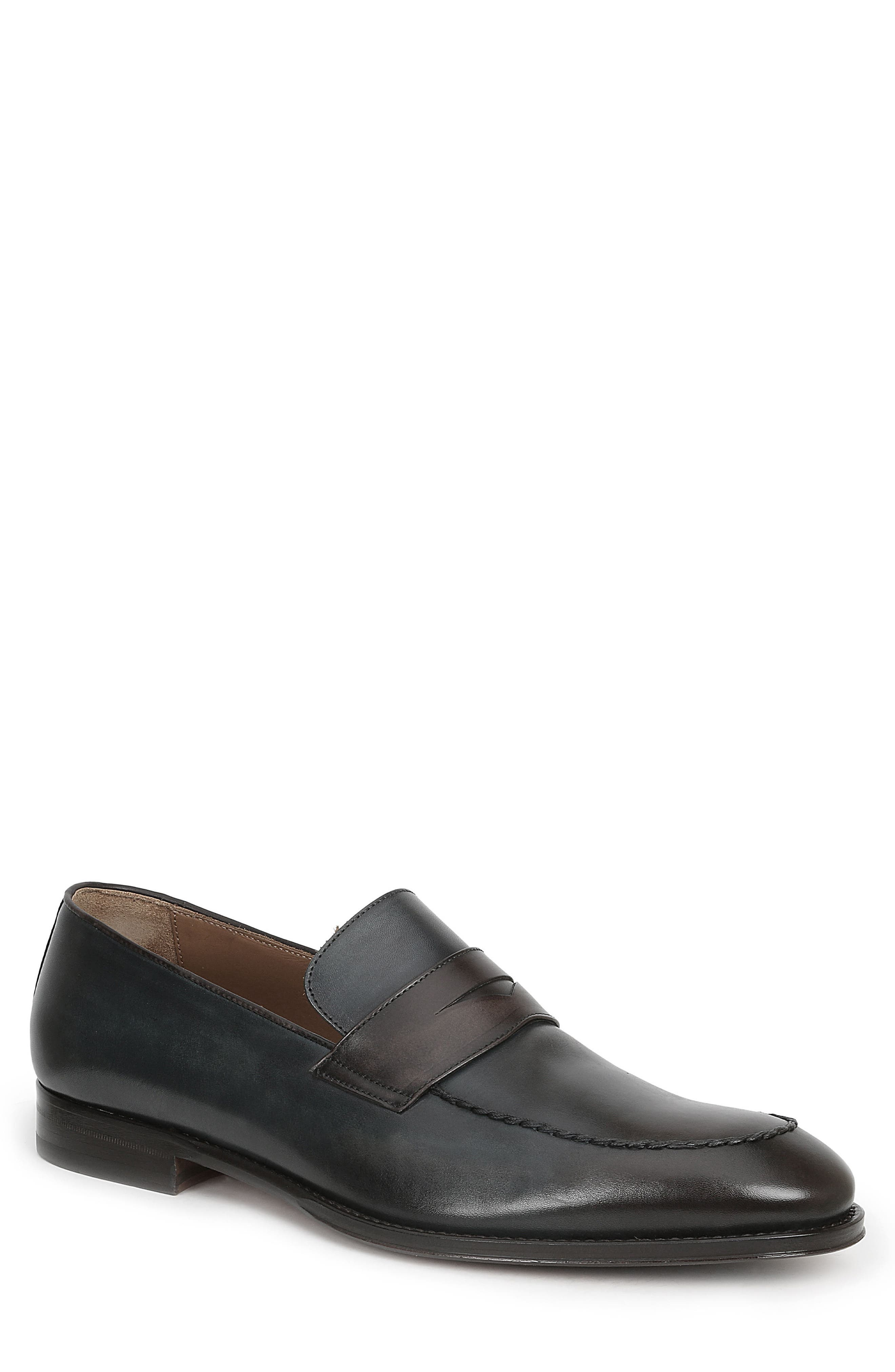 Fanetta Penny Loafer,                         Main,                         color, Blue