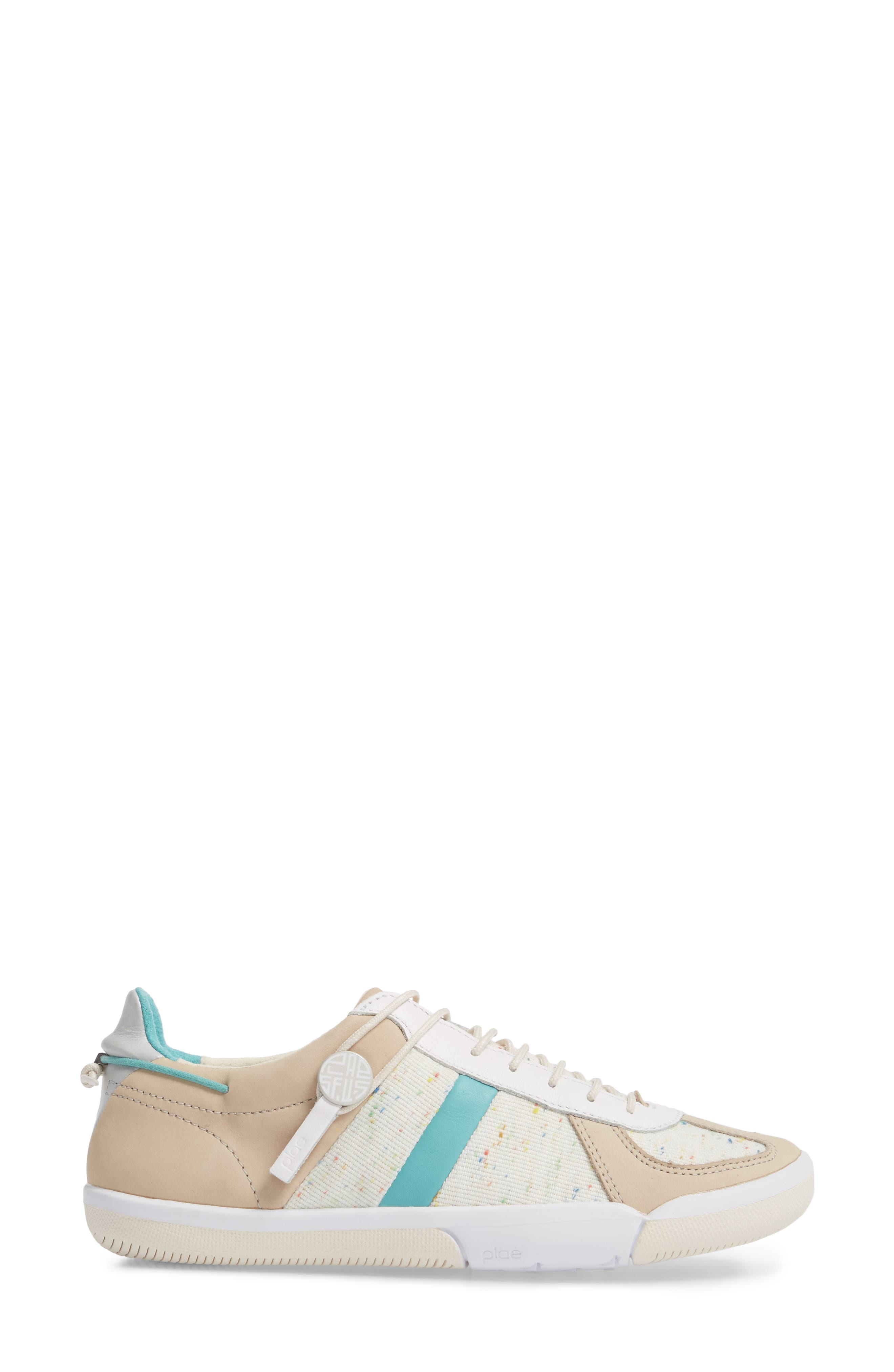 Butler Sneaker,                             Alternate thumbnail 3, color,                             Turtledove Leather