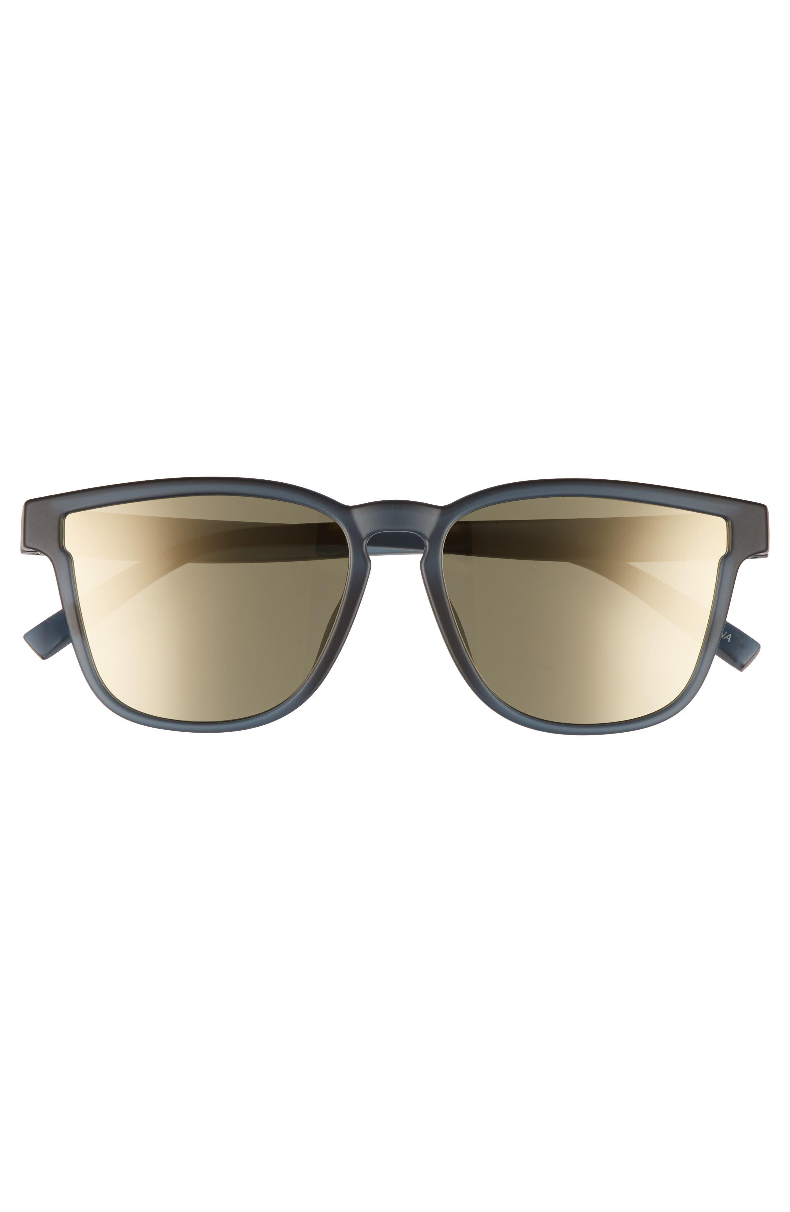 History 53mm Modern Rectangle Sunglasses,                             Alternate thumbnail 2, color,                             Matte Midnight