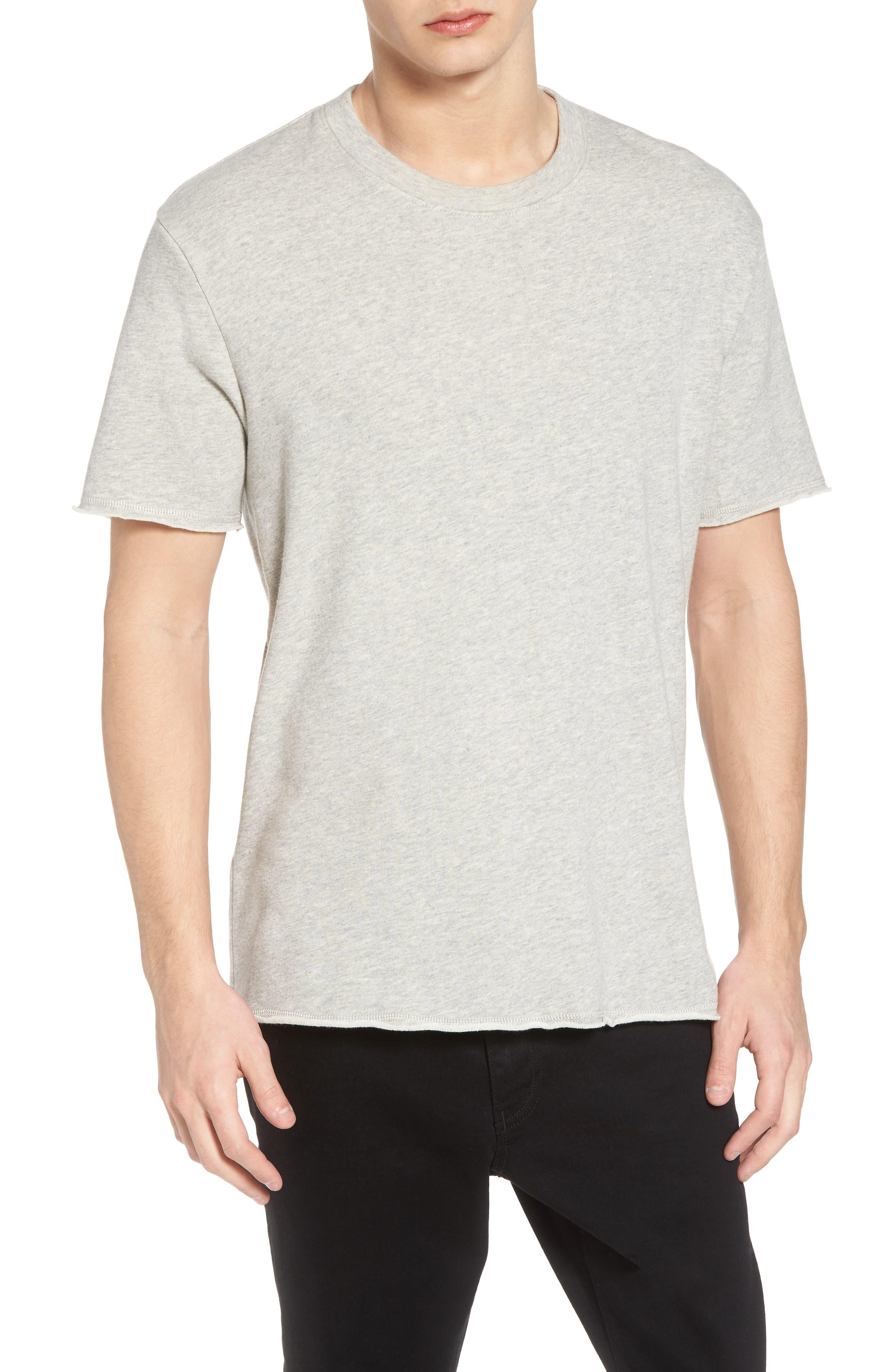 Towel T-Shirt,                         Main,                         color, Grey Light Heather