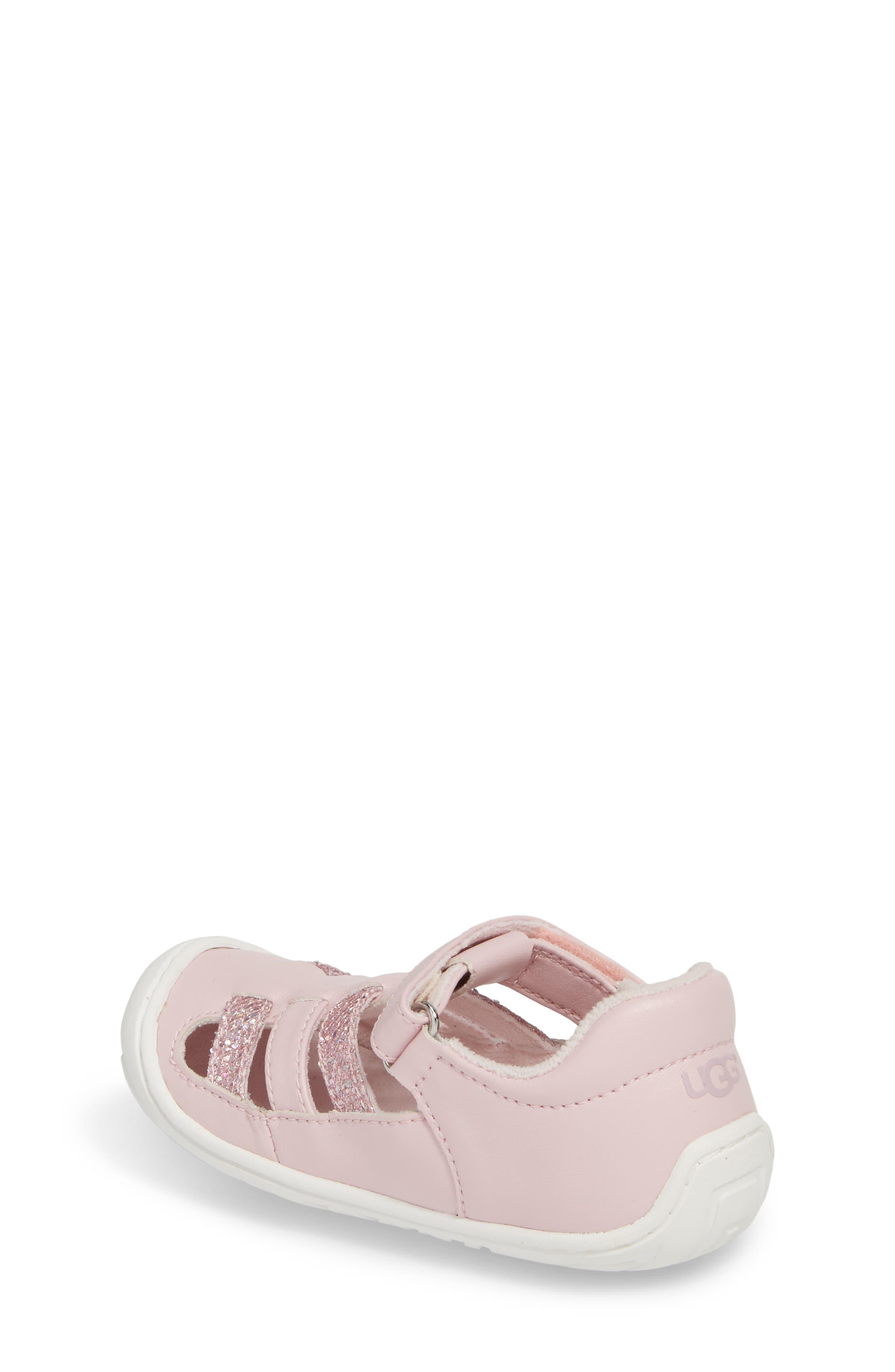 Santore Glitter Sandal,                             Alternate thumbnail 2, color,                             Seashell Pink