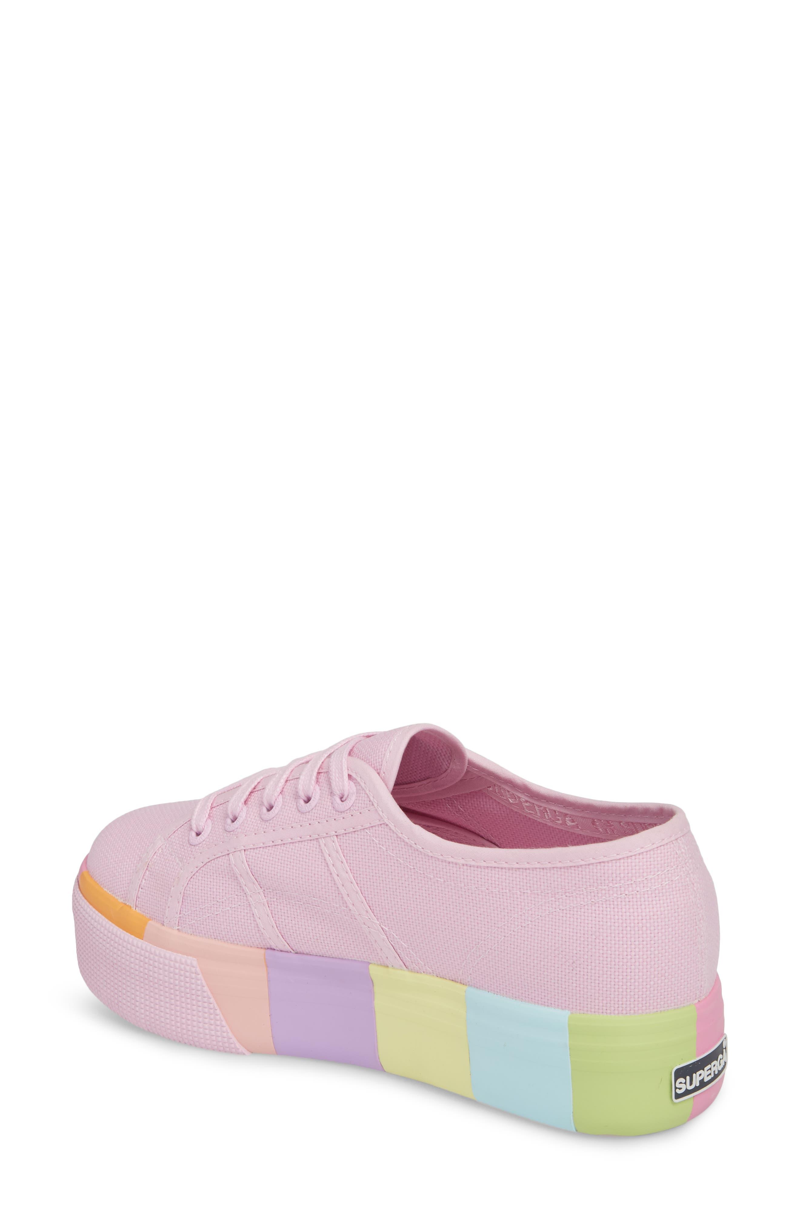 2790 Platform Sneaker,                             Alternate thumbnail 2, color,                             Pink