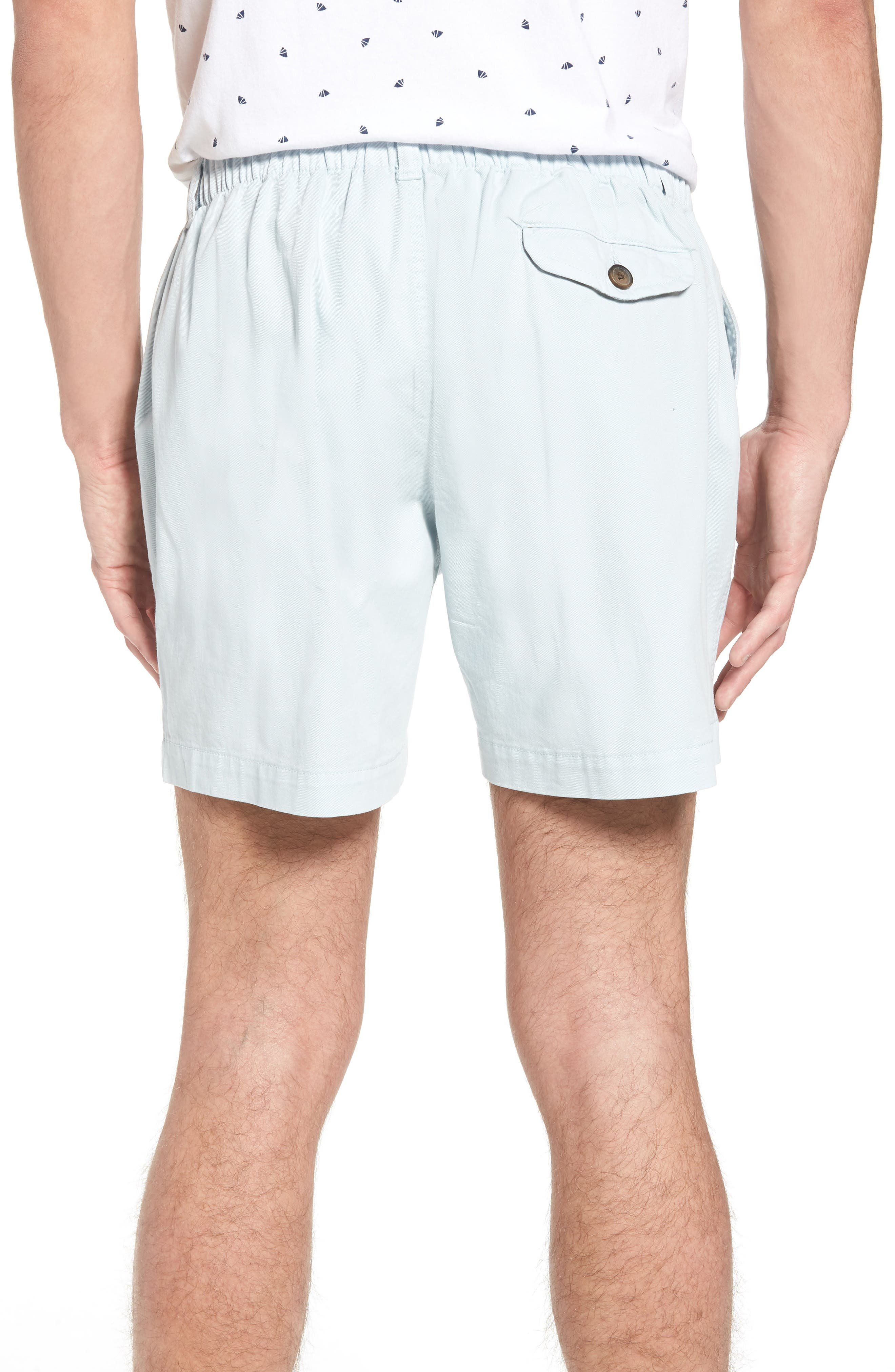 Snappers Elastic Waist 5.5 Inch Stretch Shorts,                             Alternate thumbnail 2, color,                             Sky