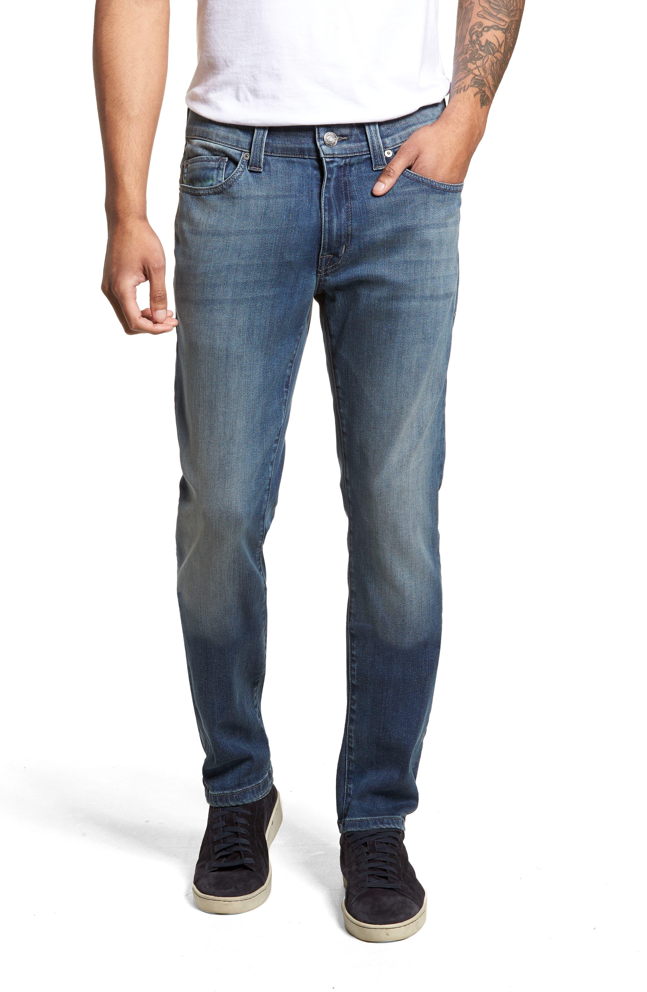 Torino Slim Fit Jeans,                         Main,                         color, Atlas Blue