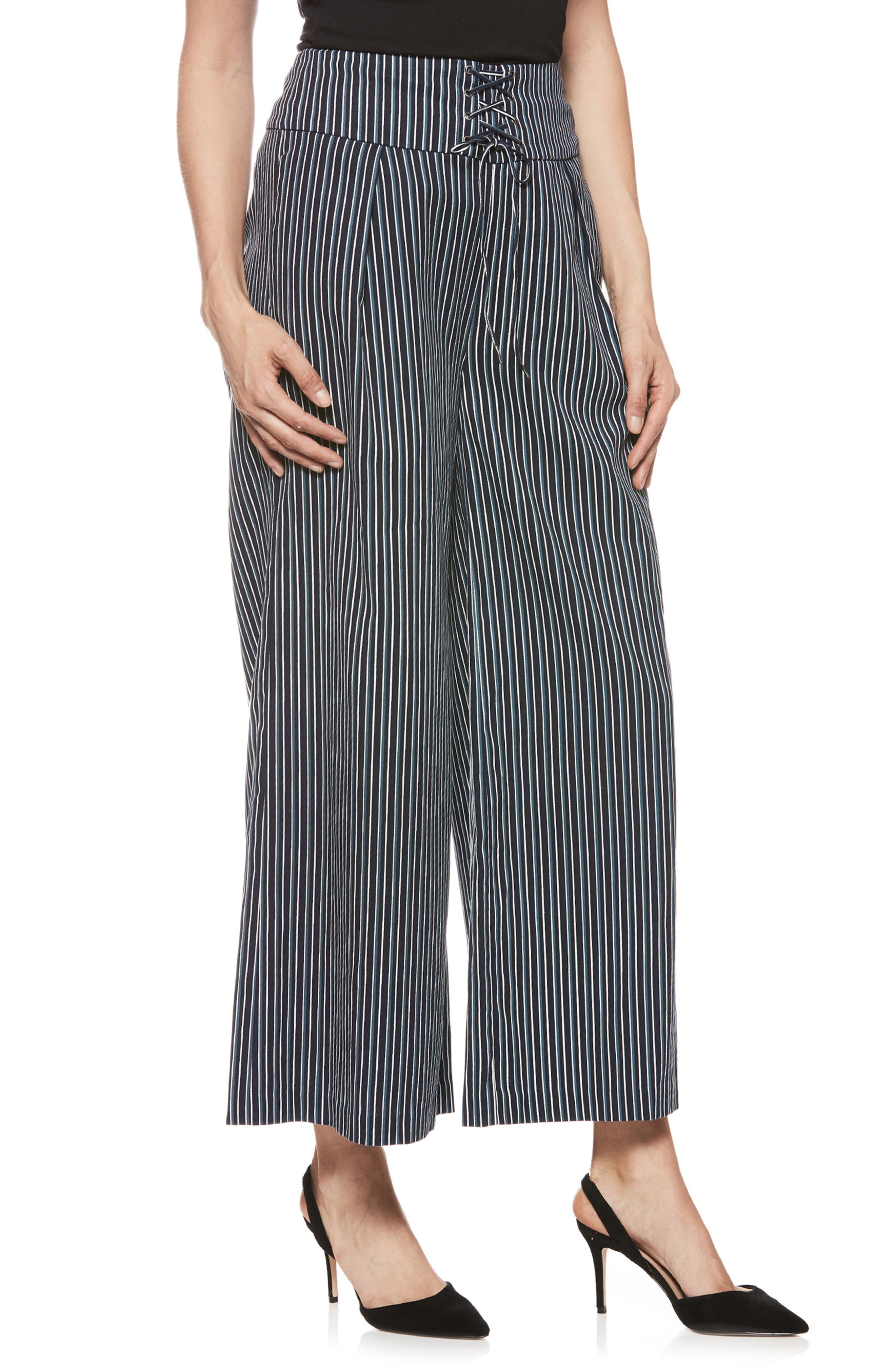 Charisma Pants,                             Main thumbnail 1, color,                             Rich Navy Multi