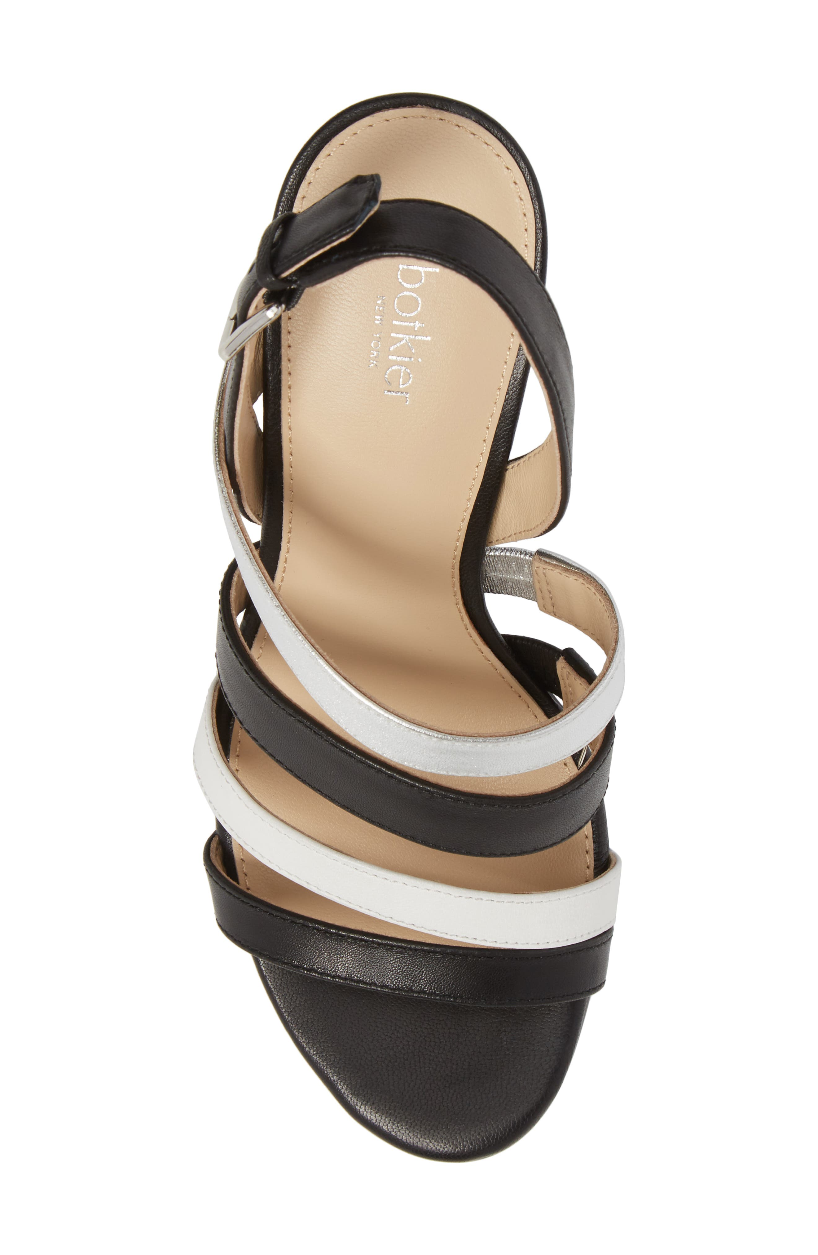 Sera Sandal,                             Alternate thumbnail 5, color,                             Black Multi Leather