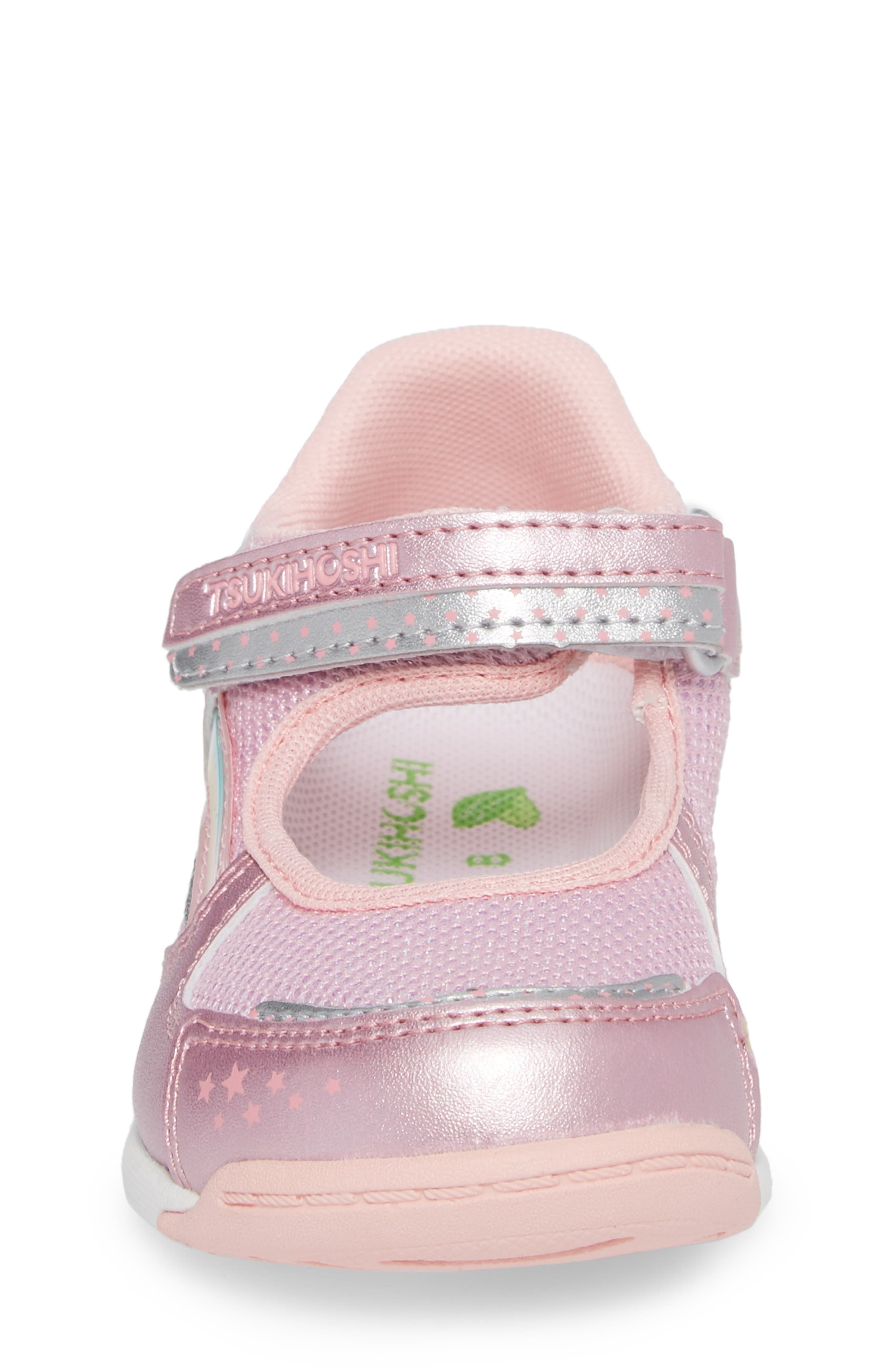 Twinkle Washable Sneaker,                             Alternate thumbnail 4, color,                             Rose/ Pink