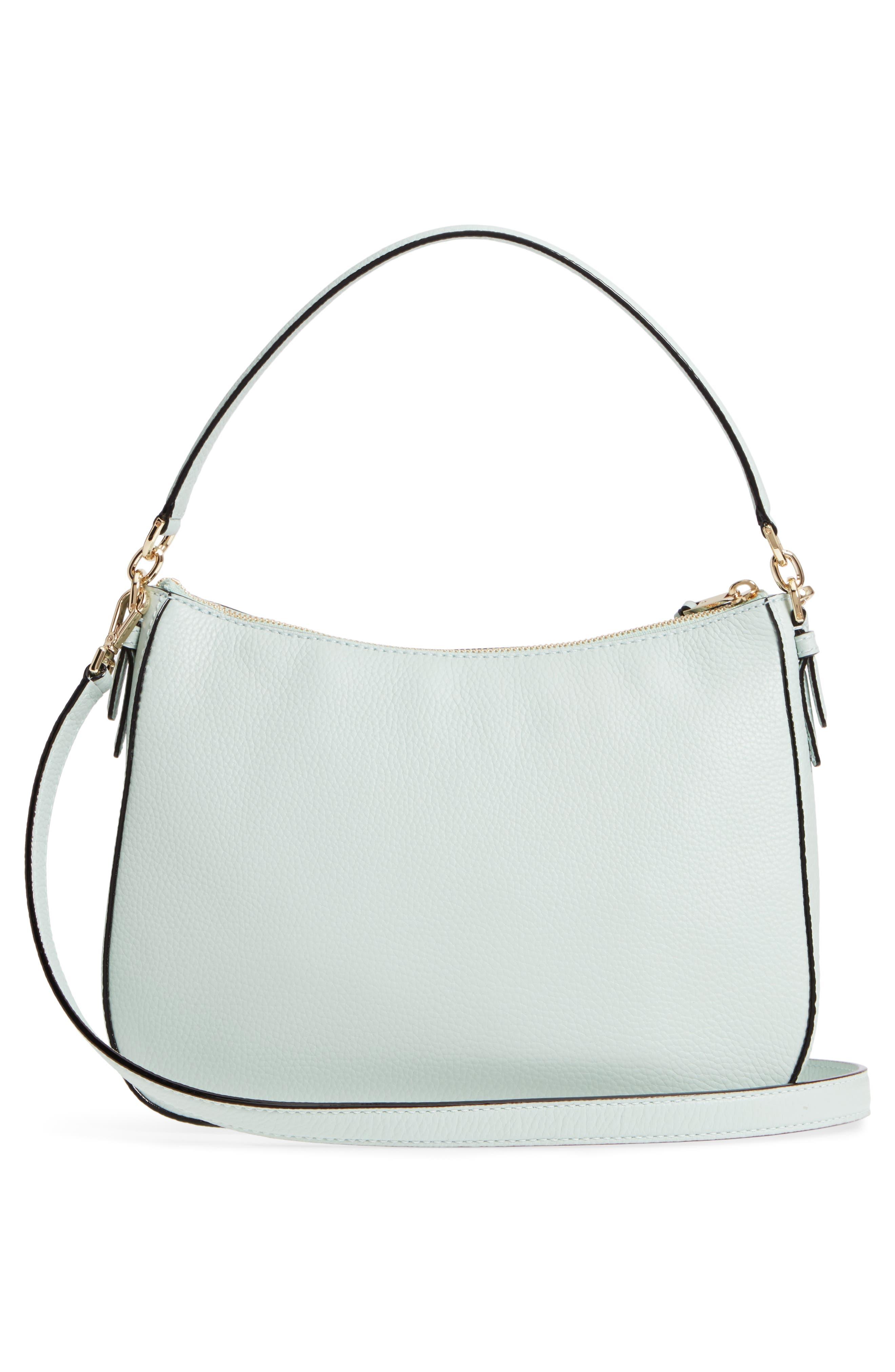 jackson street - colette leather satchel,                             Alternate thumbnail 5, color,                             Misty Mint