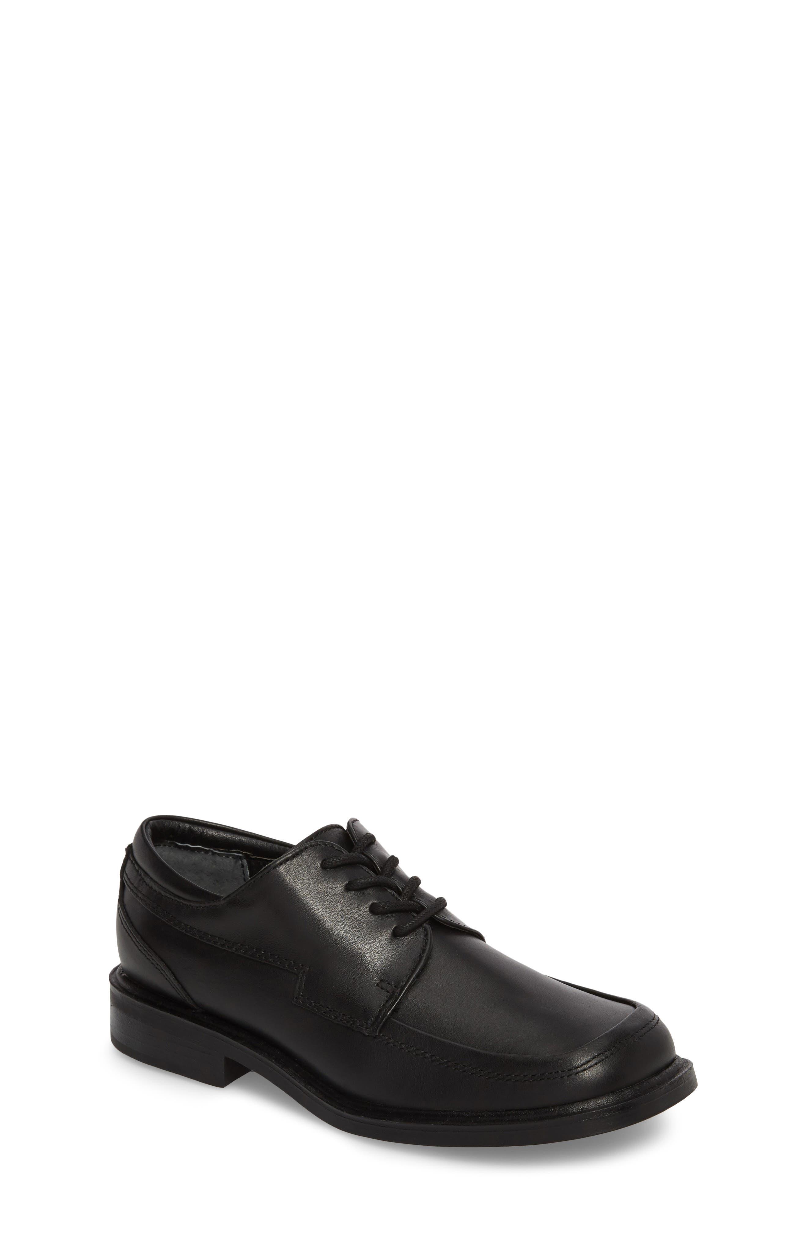 Reaction Kenneth Cole 'T-Flex Senior' Oxford,                             Main thumbnail 1, color,                             Black/ Black Leather