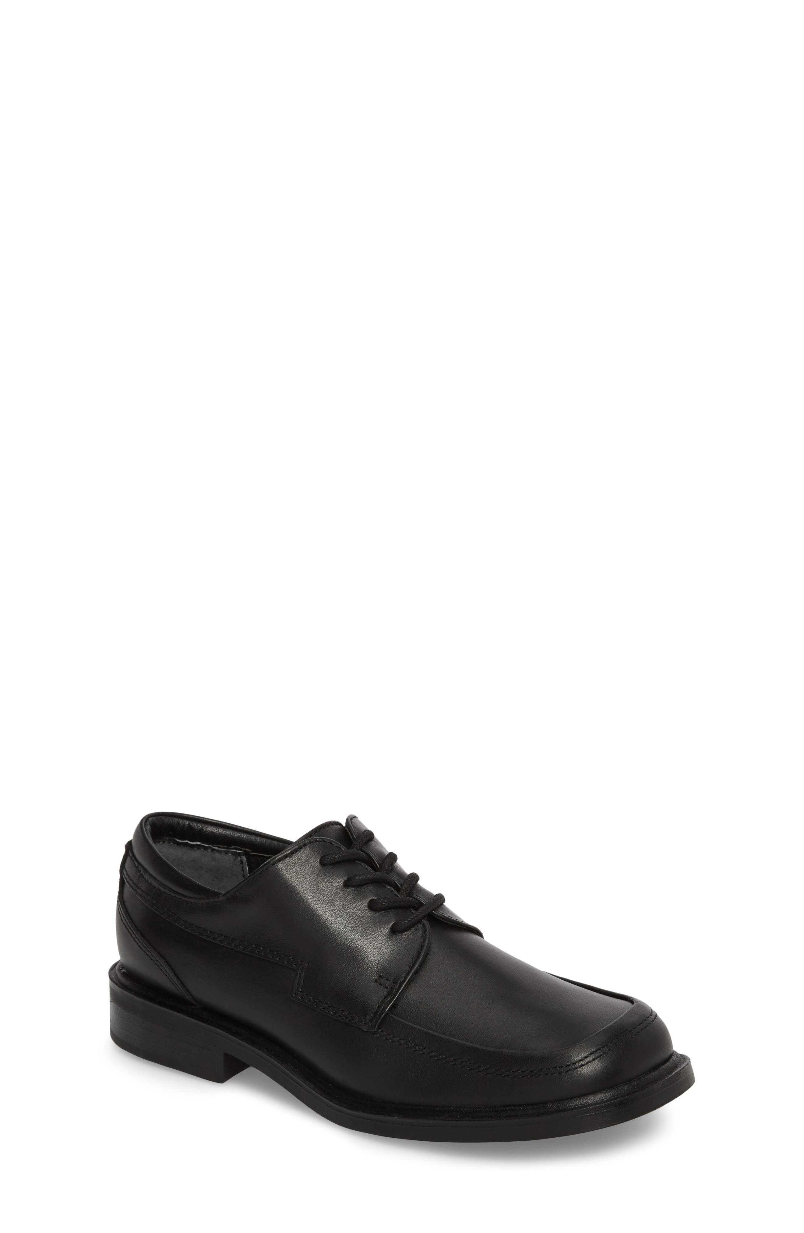 Reaction Kenneth Cole 'T-Flex Senior' Oxford,                         Main,                         color, Black/ Black Leather