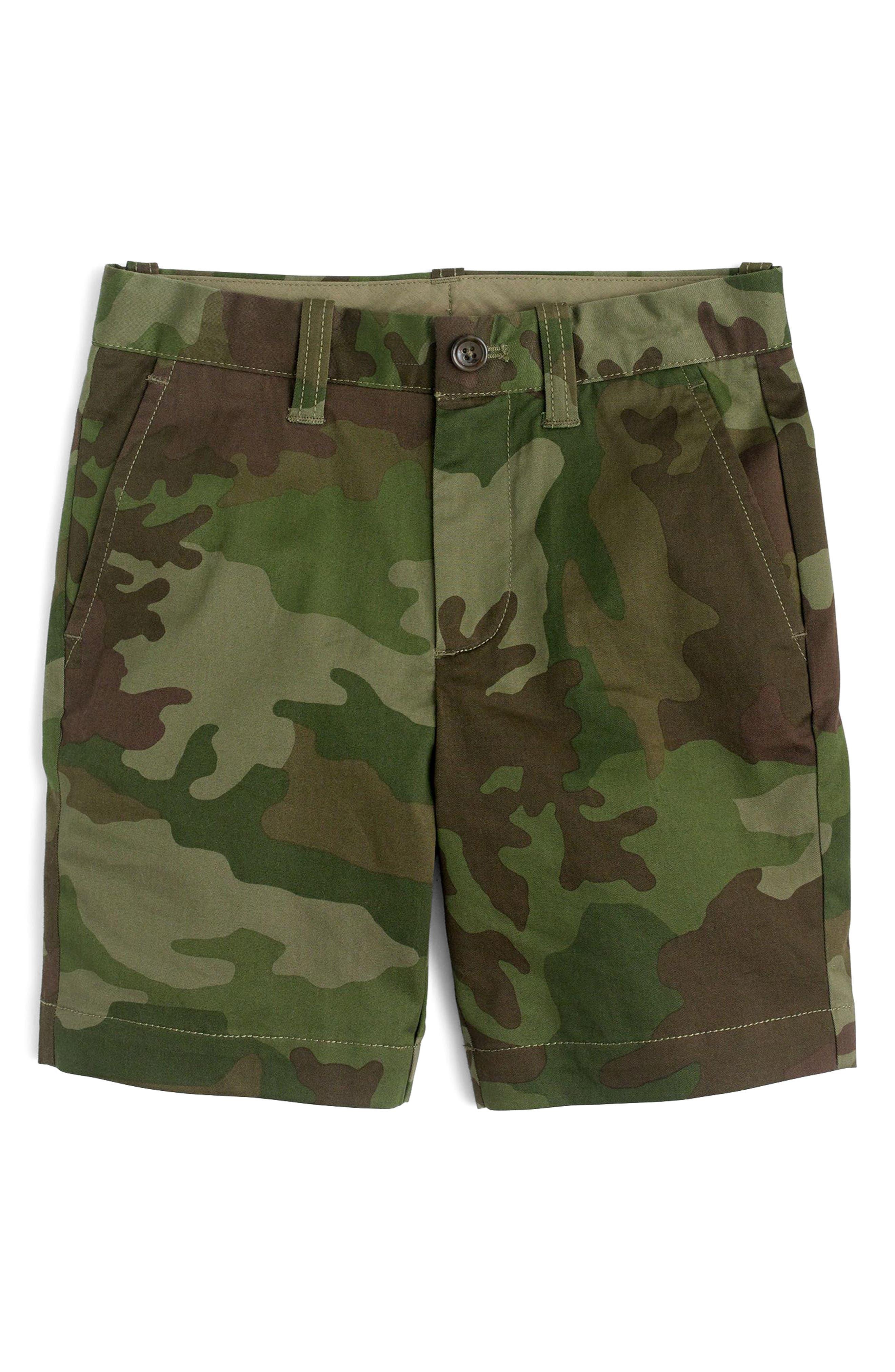 Stanton Camo Shorts,                             Main thumbnail 1, color,                             Camo Multi