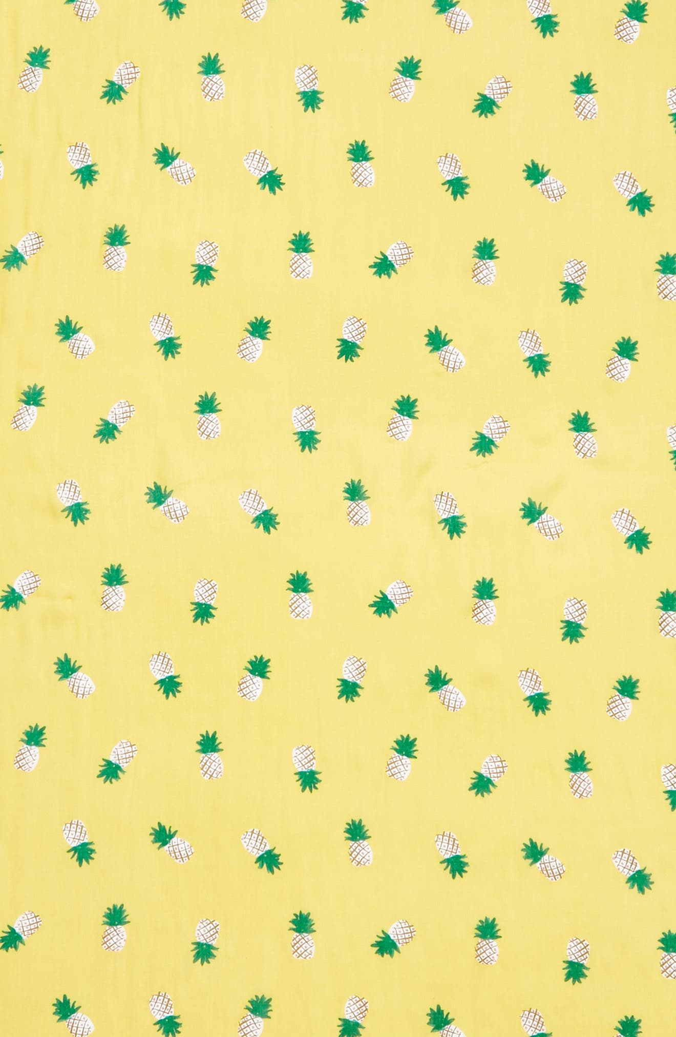pineapple scarf,                             Alternate thumbnail 4, color,                             Bamboo Shoot