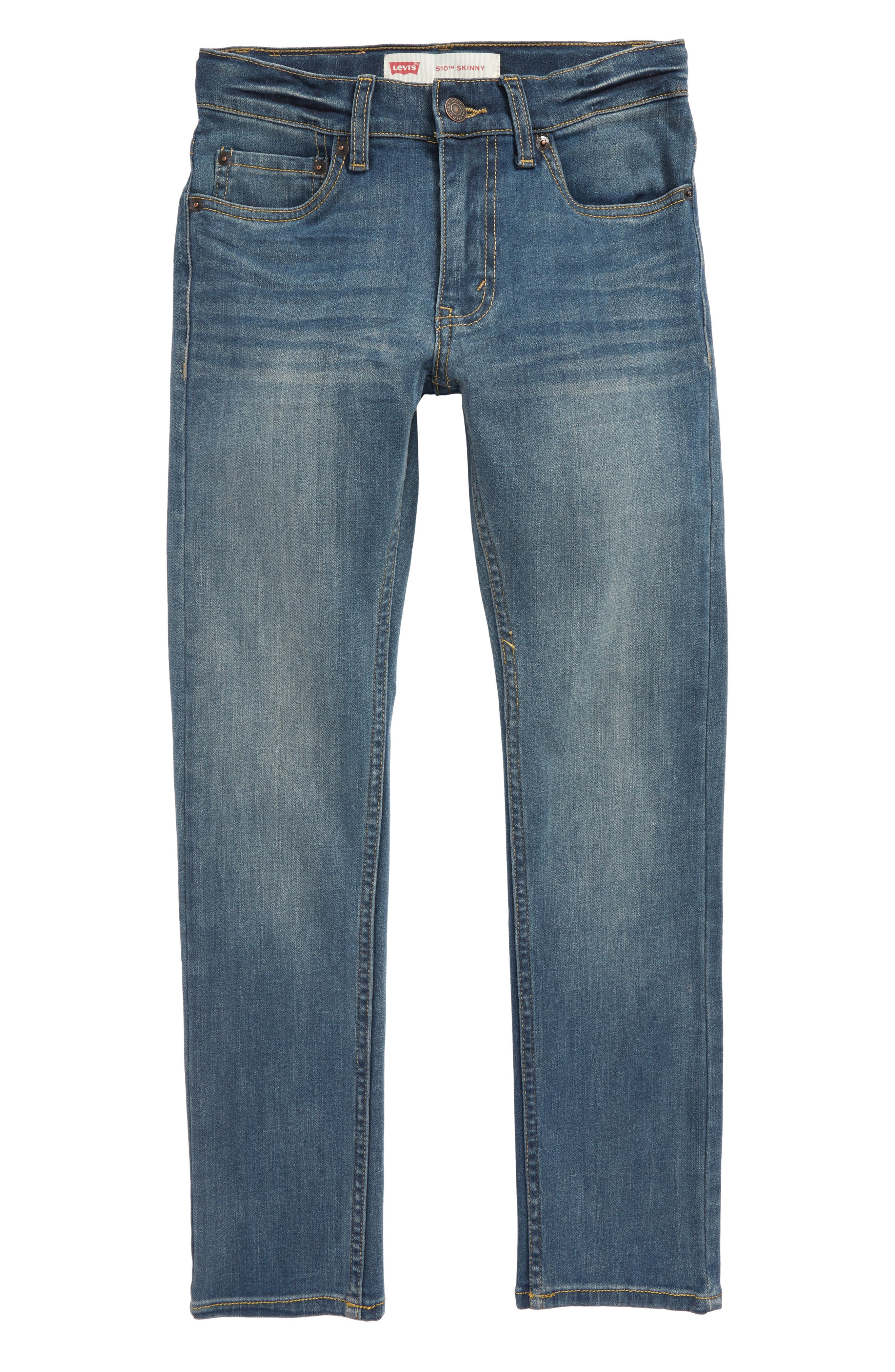 510<sup>™</sup> Skinny Fit Jeans,                             Main thumbnail 1, color,                             A Blue