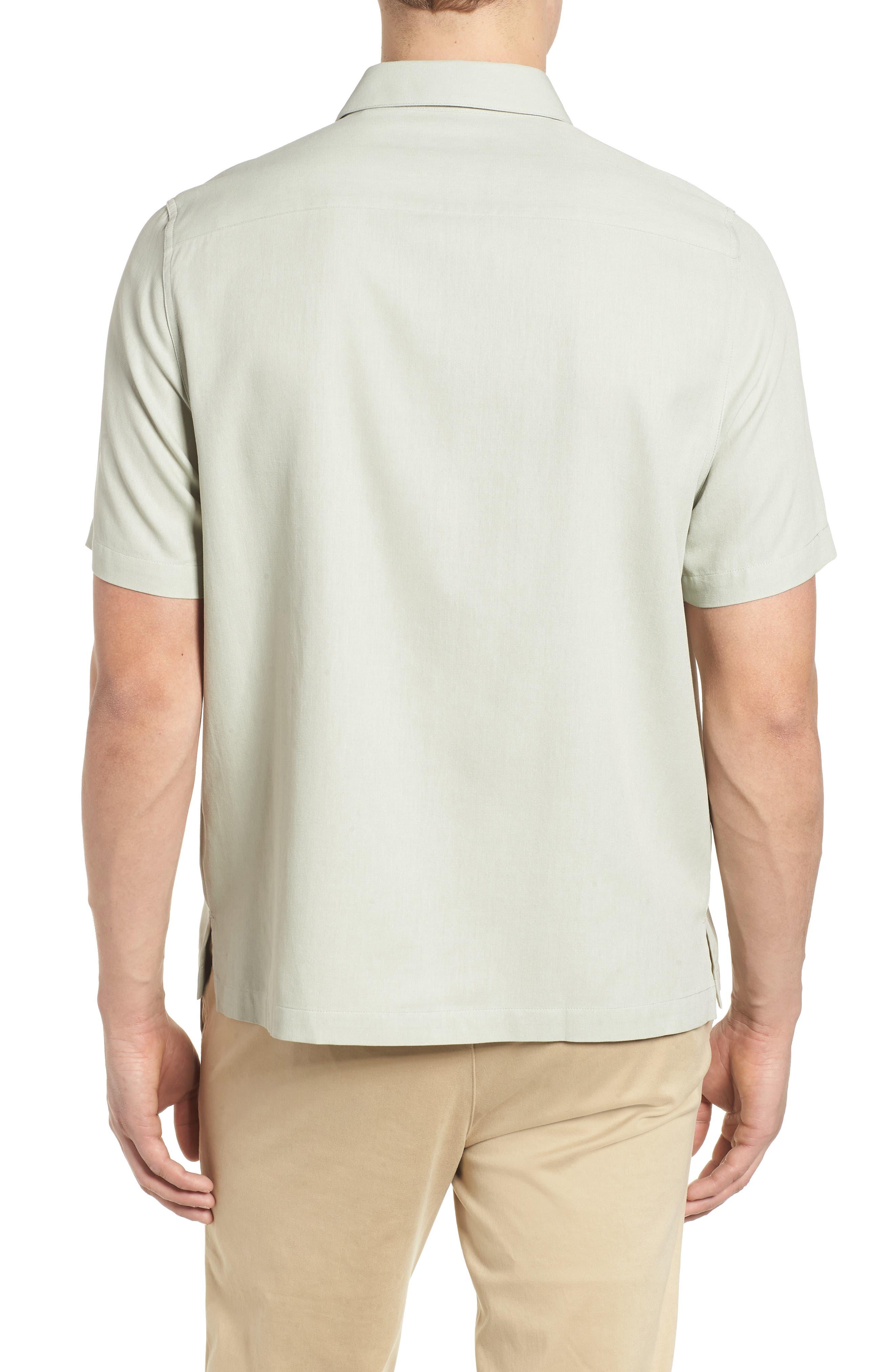 La Fleur Camp Shirt,                             Alternate thumbnail 2, color,                             Carbon