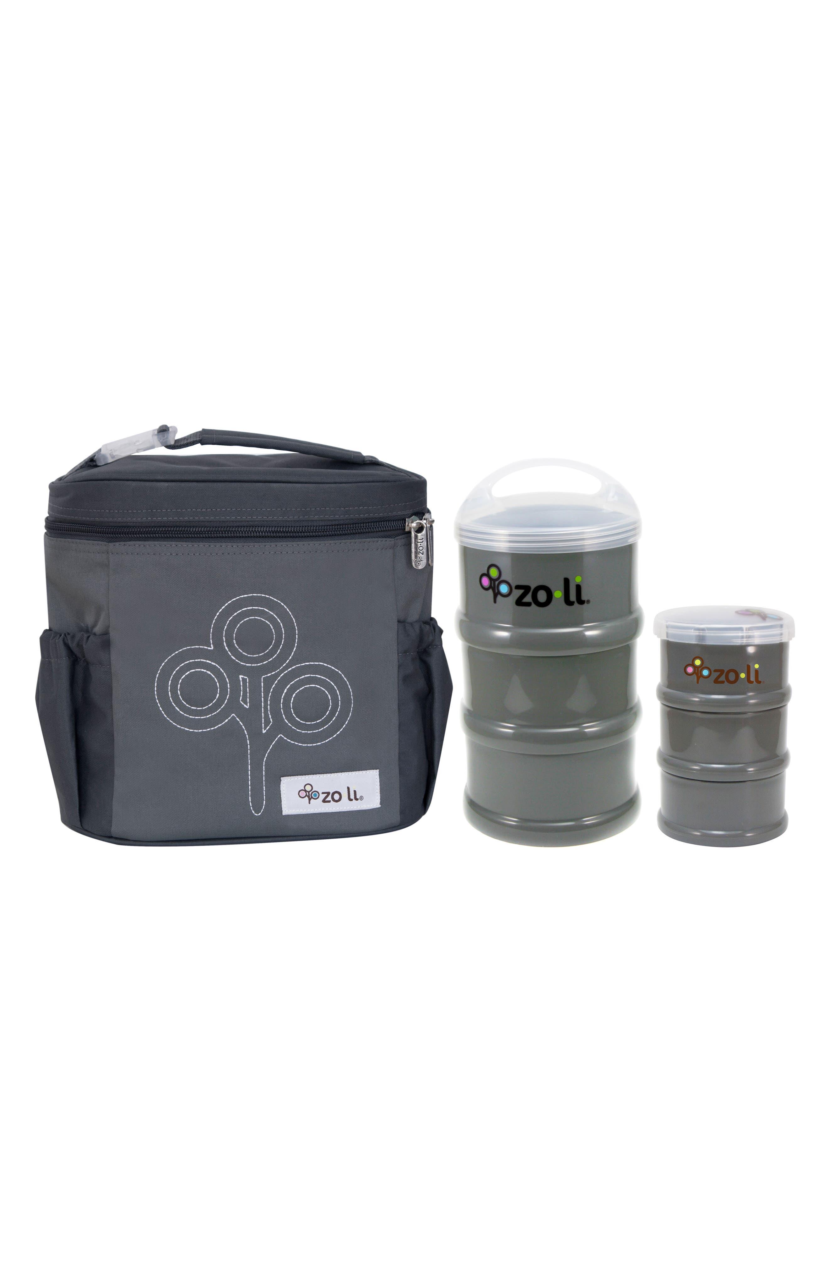 ZoLi SUMO Snacker, PODS Containers & NOMNOM Tote Set