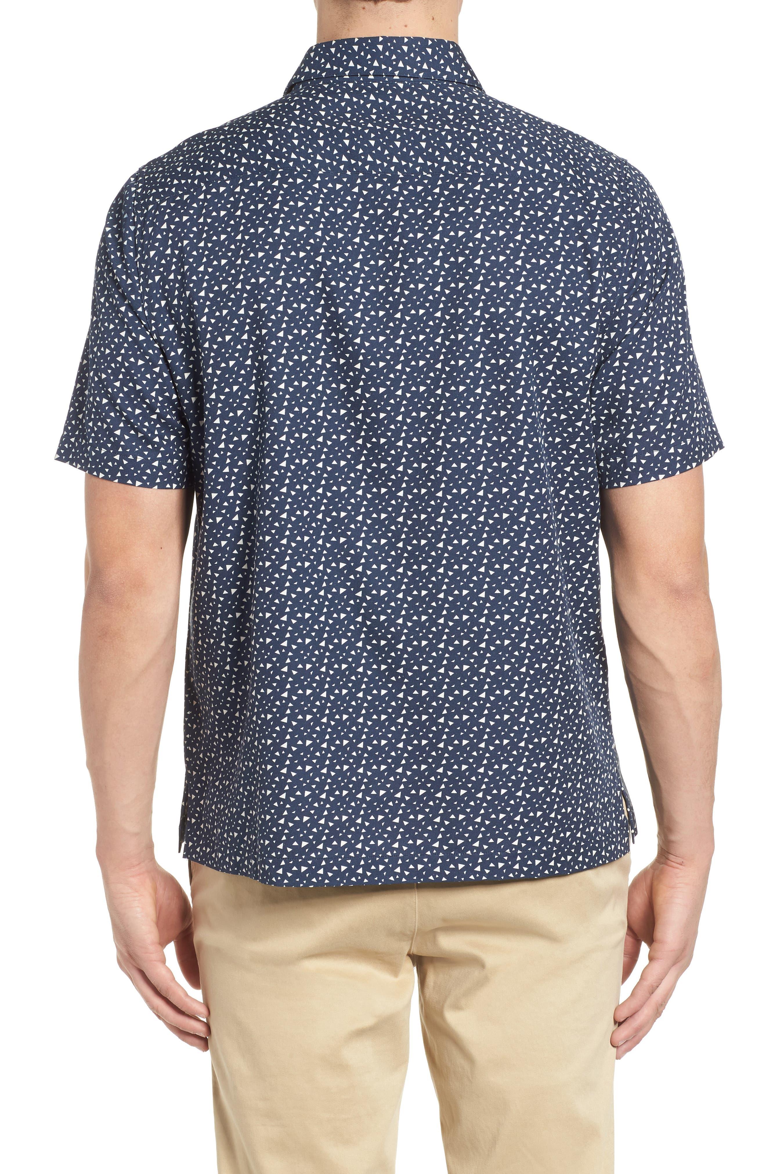 Bermuda Triangle Camp Shirt,                             Alternate thumbnail 2, color,                             Nat Blue