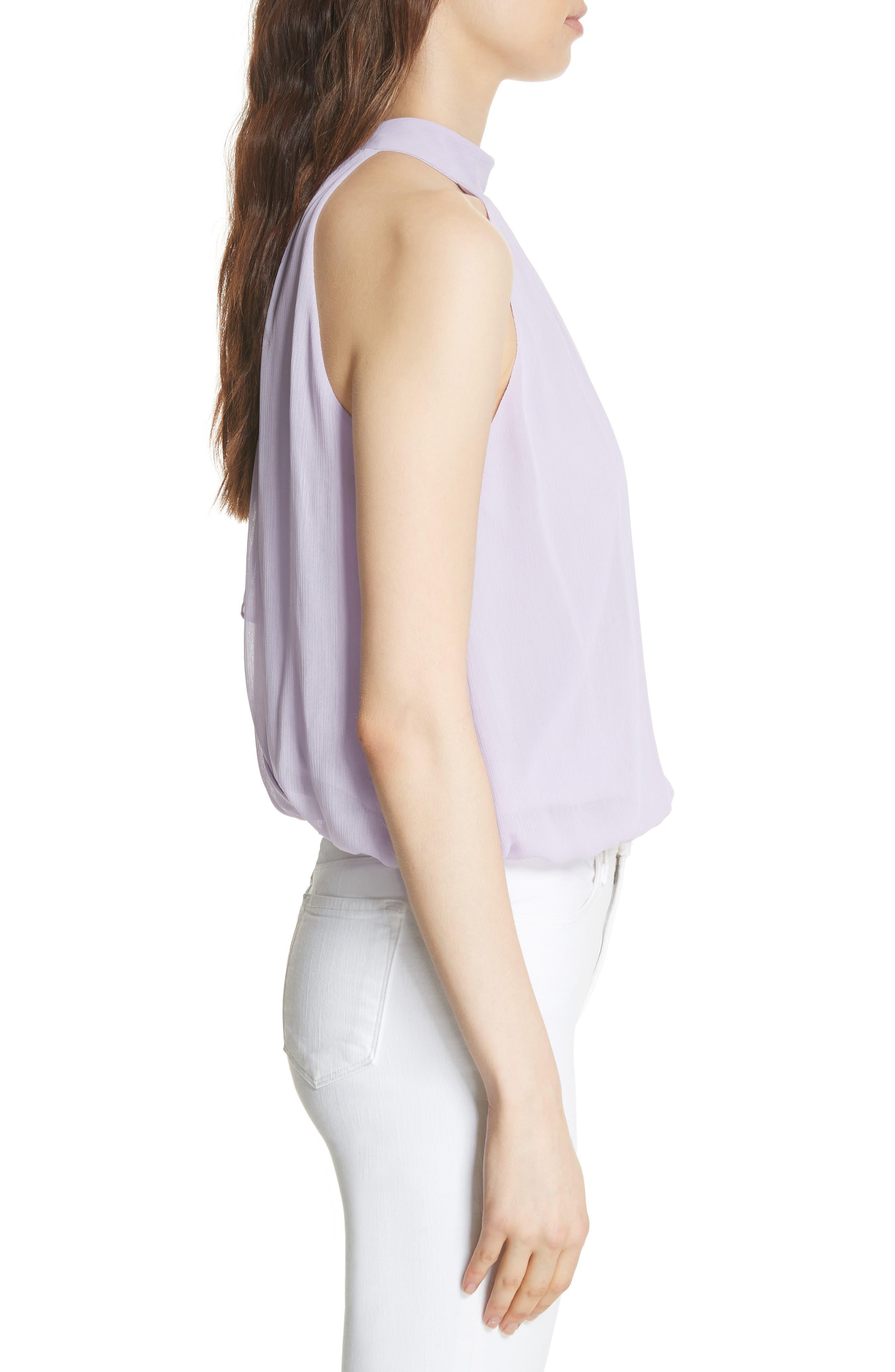 Maris Tie Back Top,                             Alternate thumbnail 3, color,                             Lilac