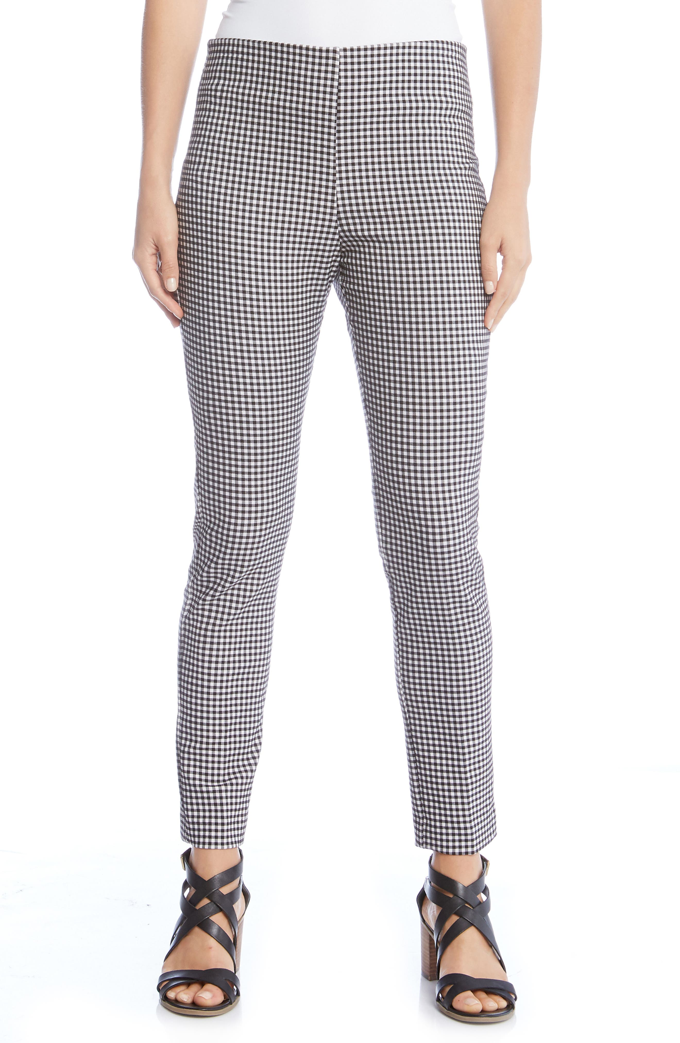 Piper Skinny Ankle Pants,                         Main,                         color, Checkered