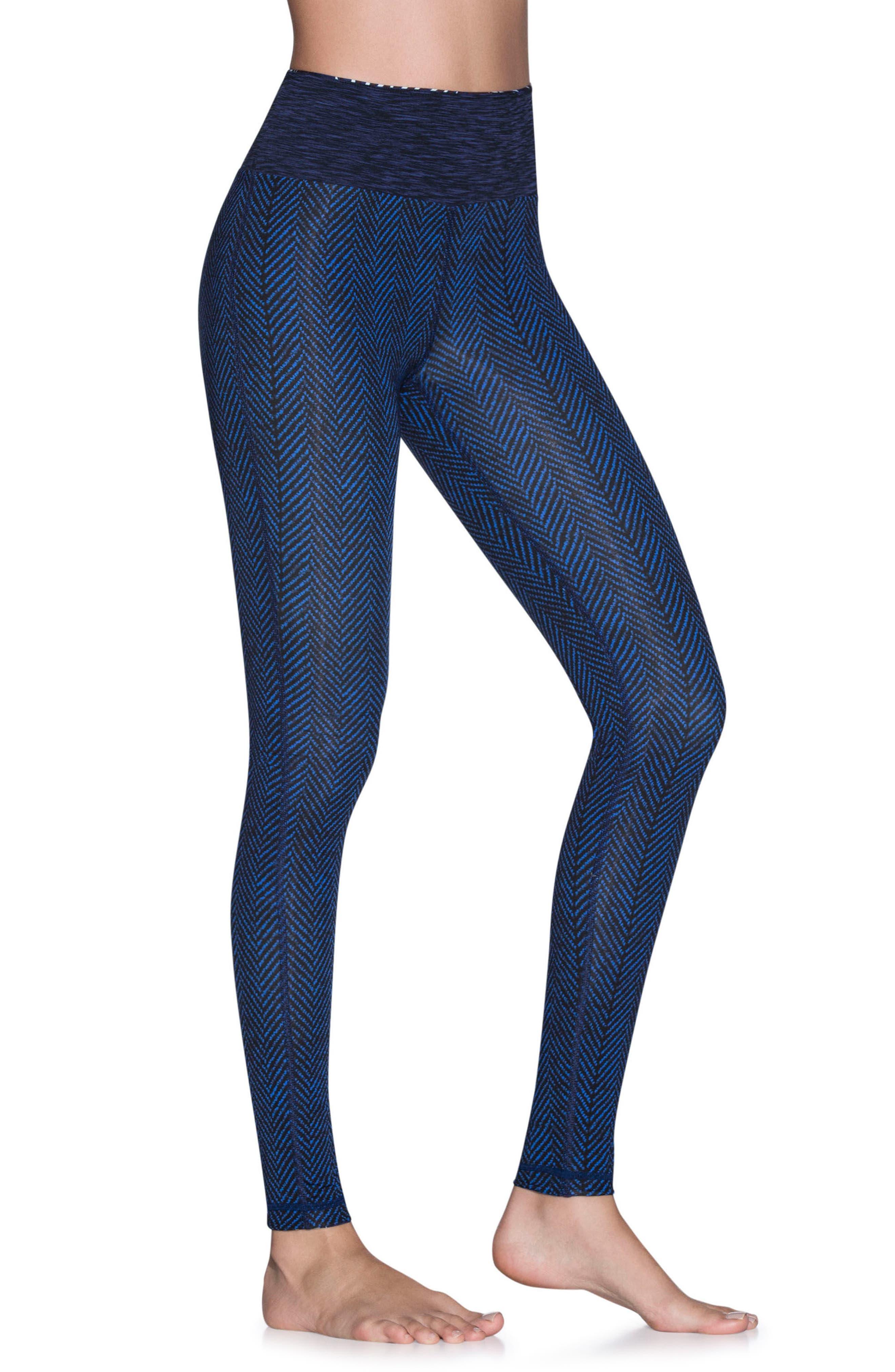 Dream Reversible Leggings,                             Main thumbnail 1, color,                             Deep Blue
