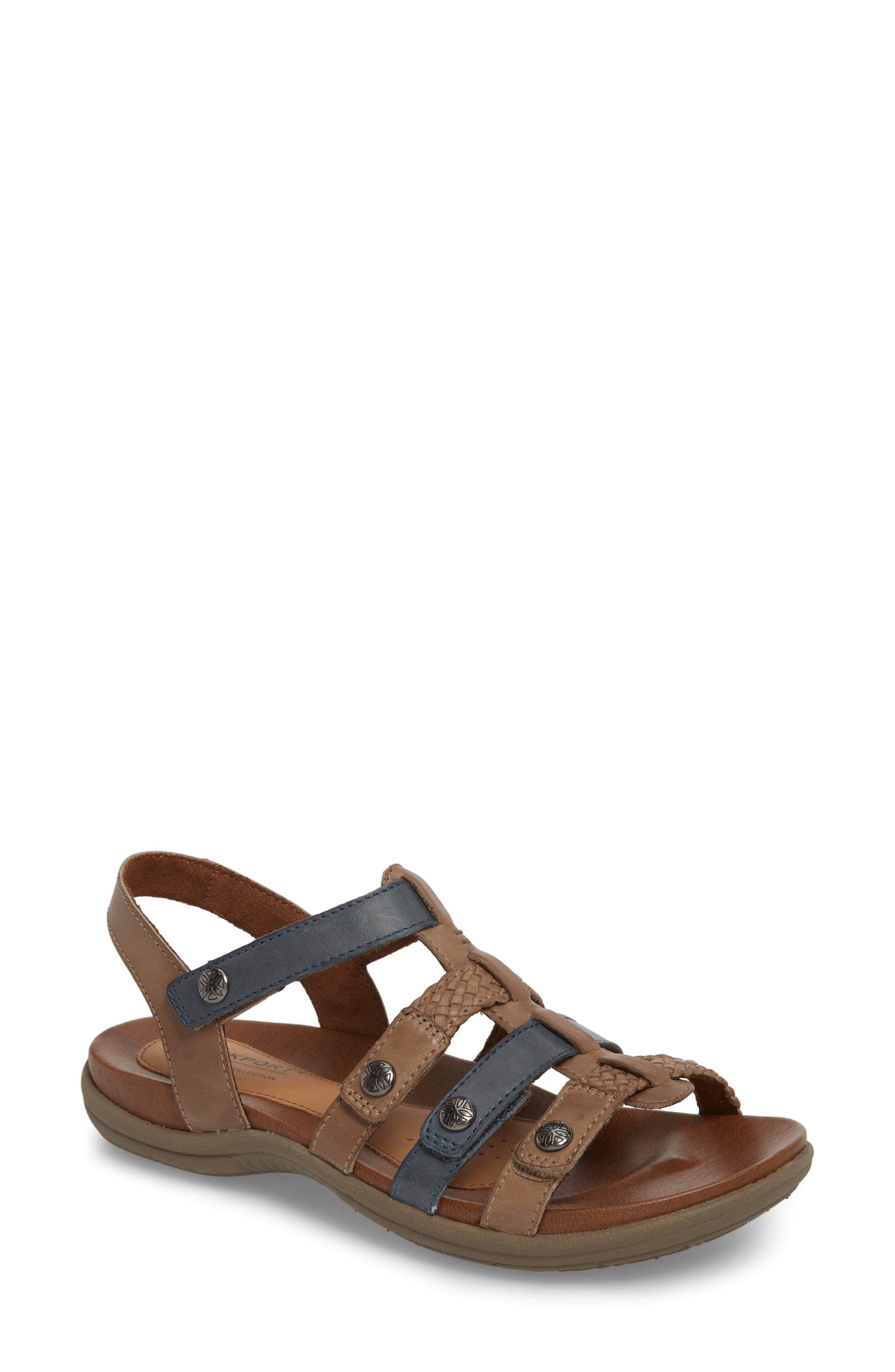 Rockport Cobb Hill Rubey T-Strap Sandal (Women)