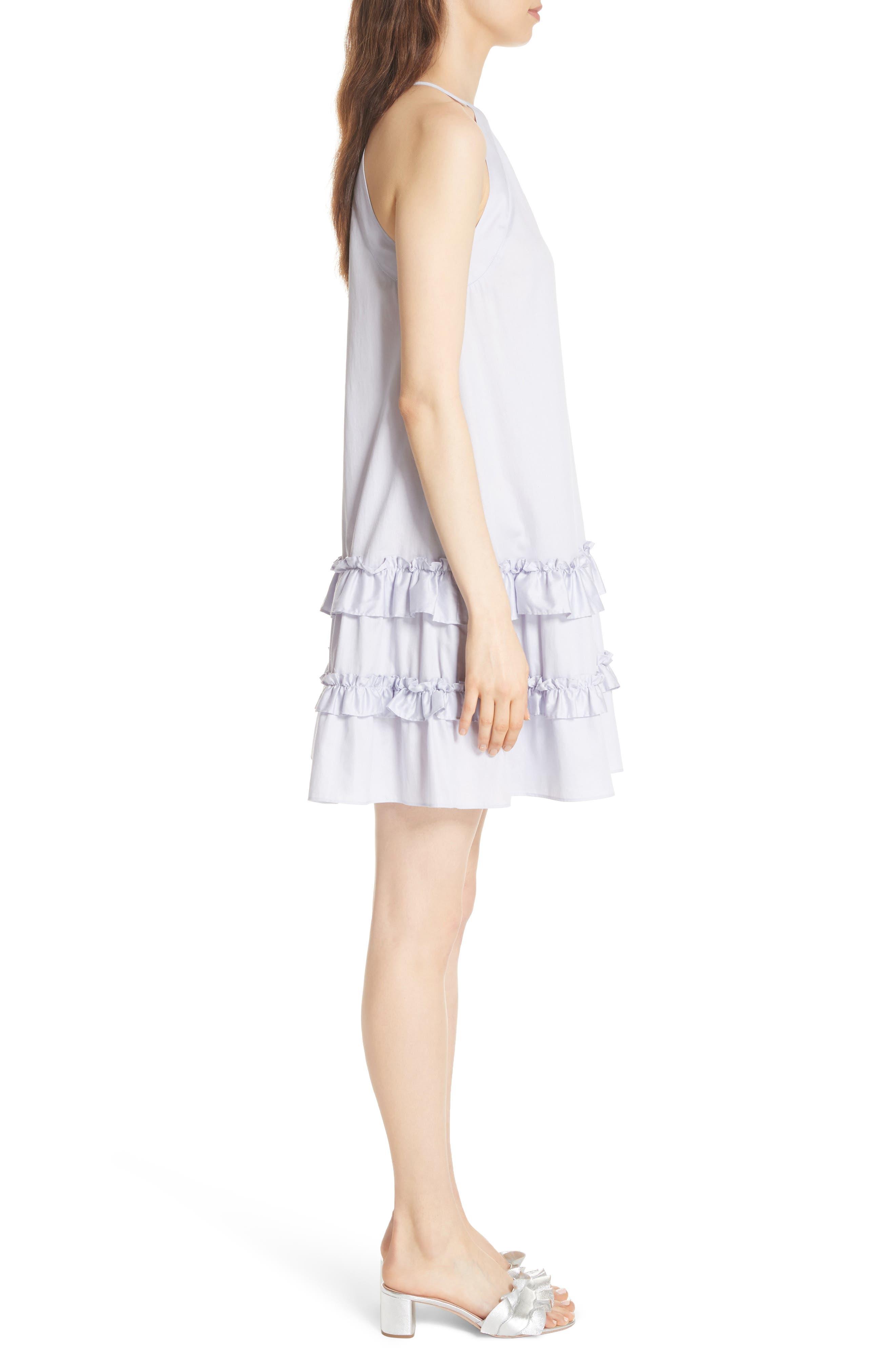 Alternate Image 3  - Rebecca Taylor Sleeveless Cotton Tank Dress