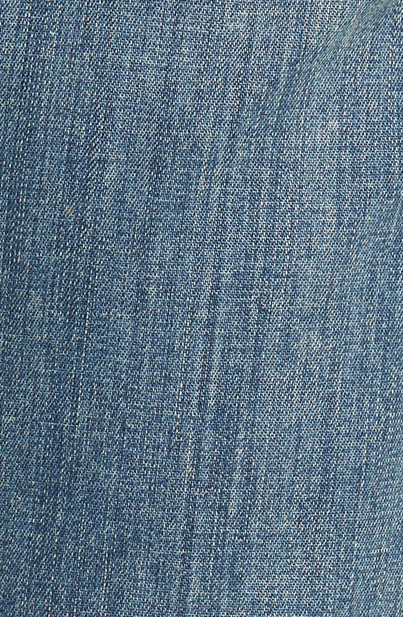 Gage Slim Straight Leg Jeans,                             Alternate thumbnail 5, color,                             Adler