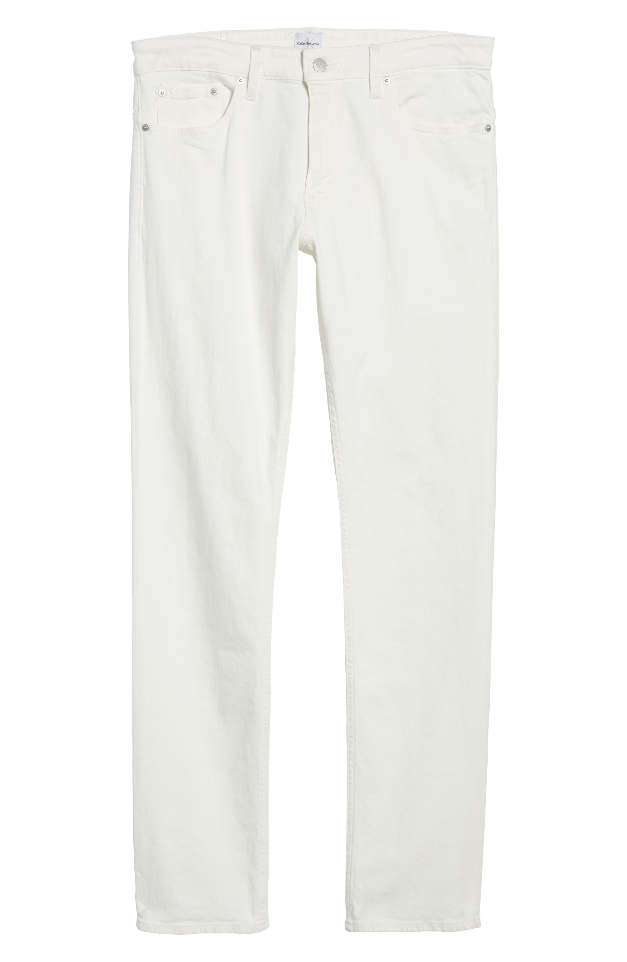 Slim Fit Jeans,                             Alternate thumbnail 6, color,                             Glass