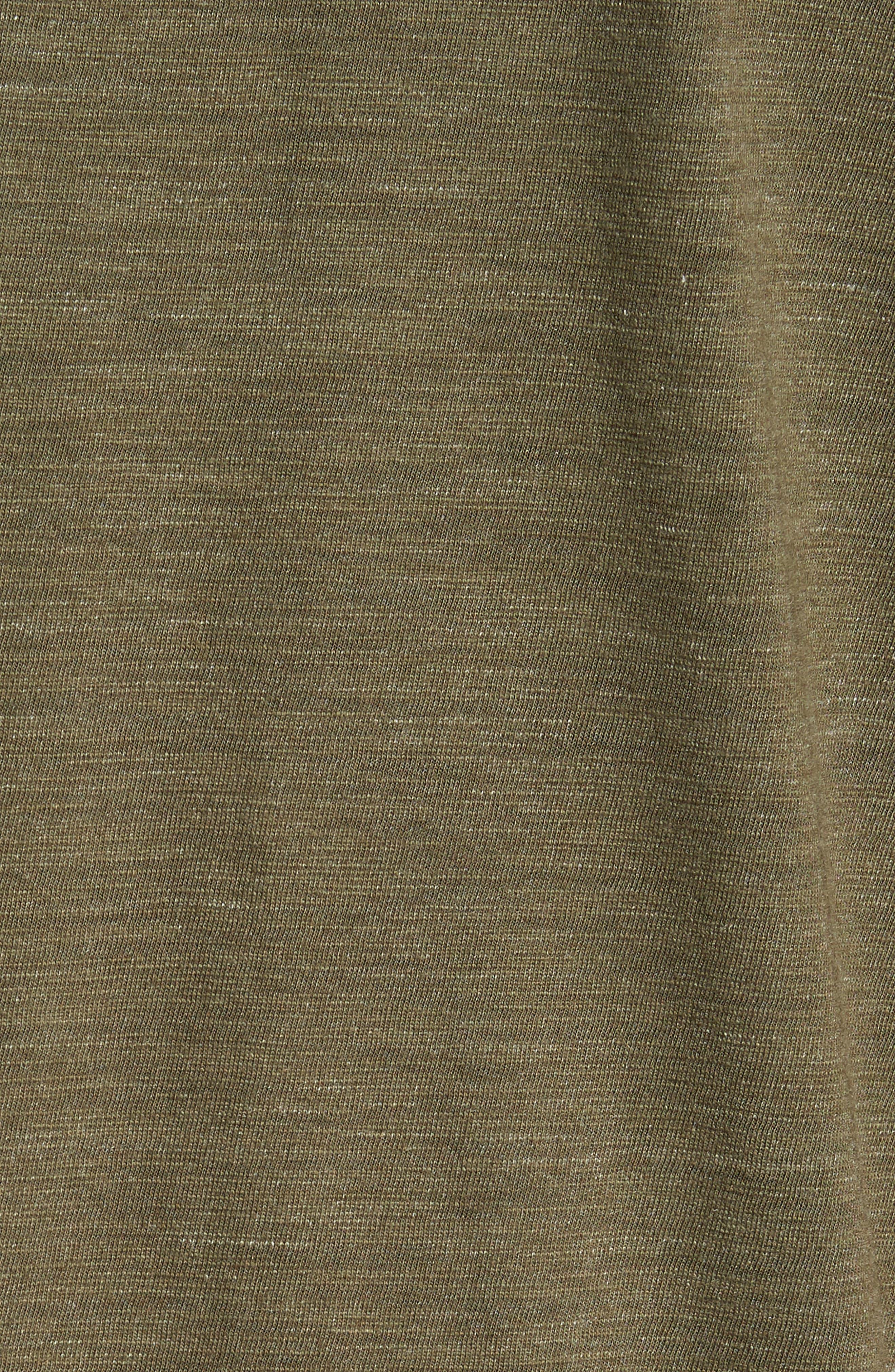 Space Dyed Pocket Polo,                             Alternate thumbnail 4, color,                             Green Bronze Spacedye