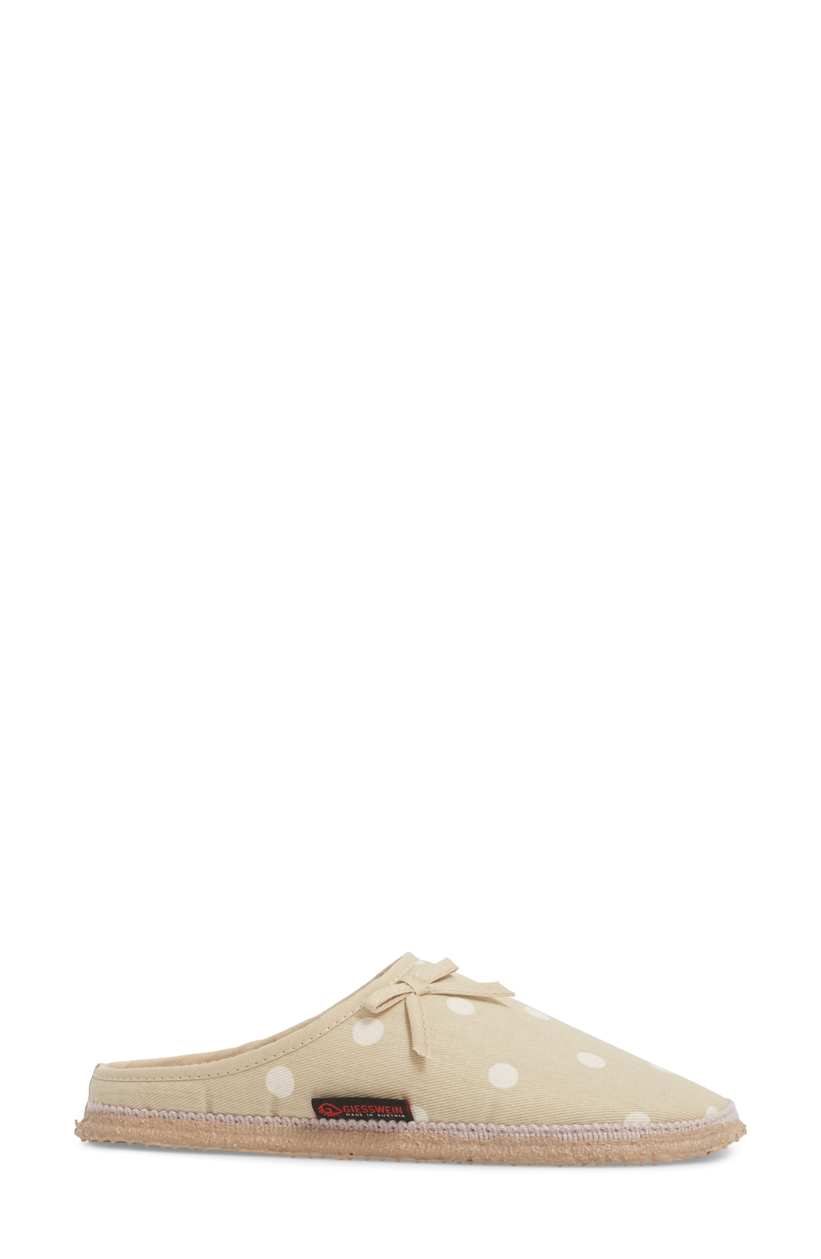 Meadow Slipper,                             Alternate thumbnail 3, color,                             Natural Fabric